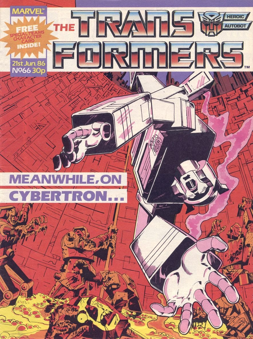 The Transformers (UK) 66 Page 1