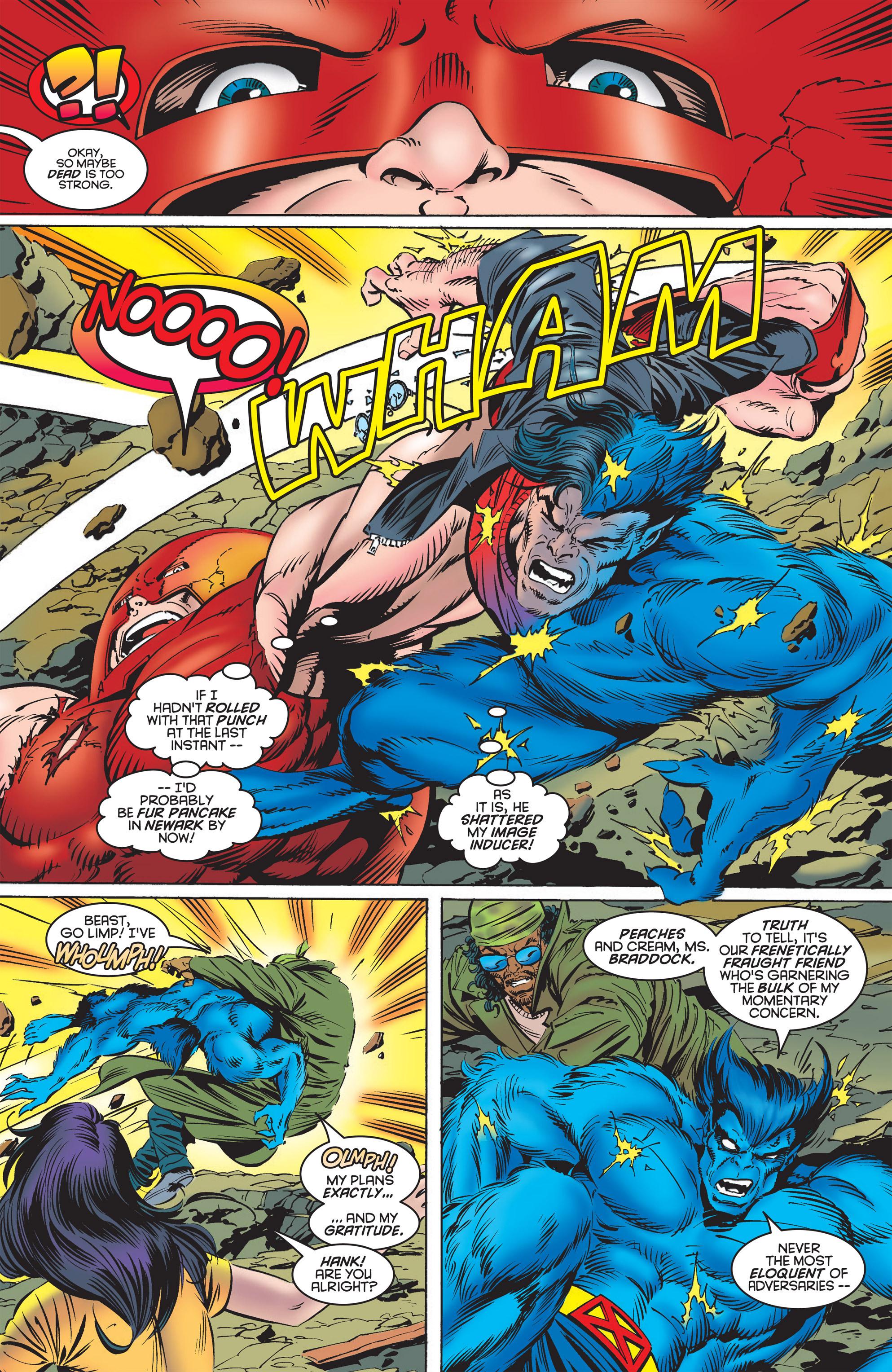 Read online Uncanny X-Men (1963) comic -  Issue #322 - 15