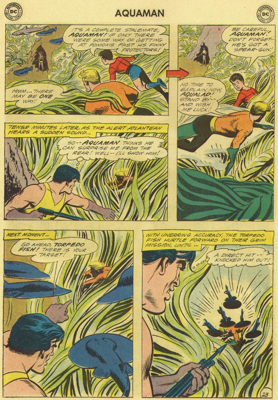 Read online Aquaman (1962) comic -  Issue #3 - 30