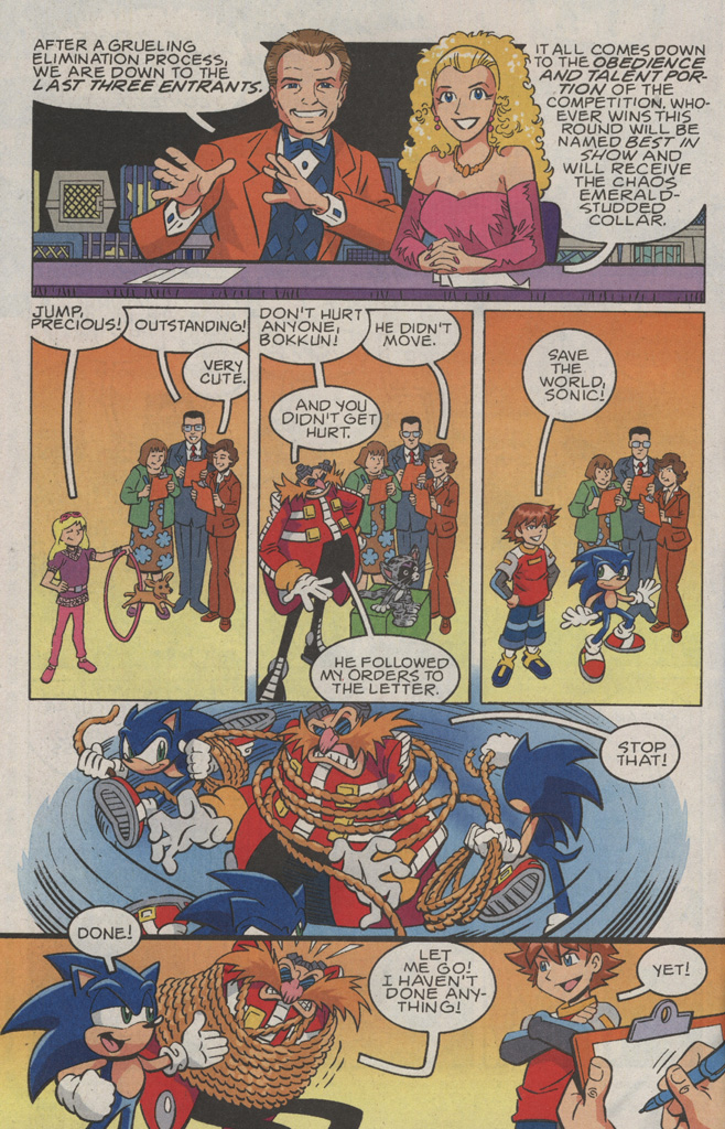 Read online Sonic X comic -  Issue #36 - 24