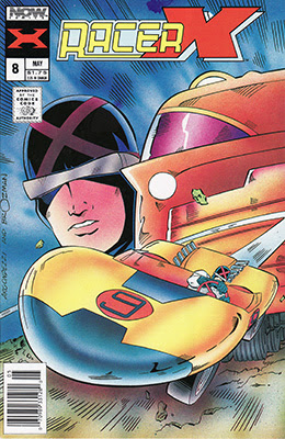 Racer X (1988) issue 8 - Page 1