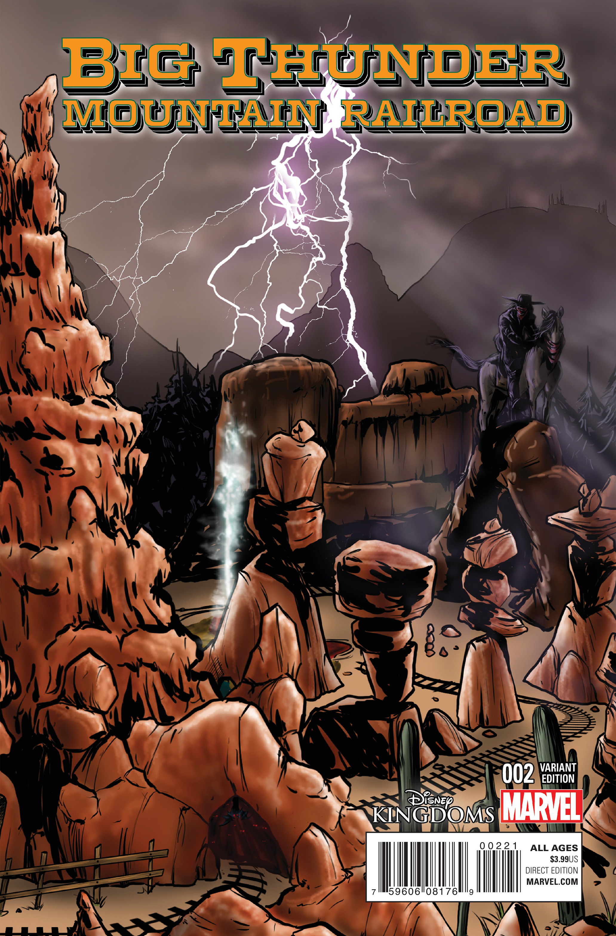 Read online Big Thunder Mountain Railroad comic -  Issue #2 - 2