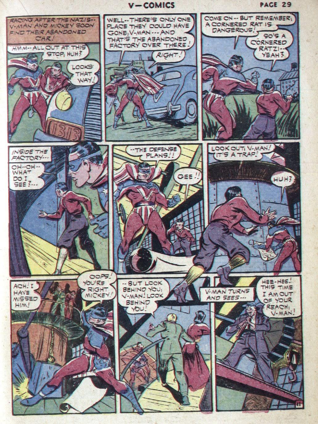 Read online V...- Comics comic -  Issue #1 - 31