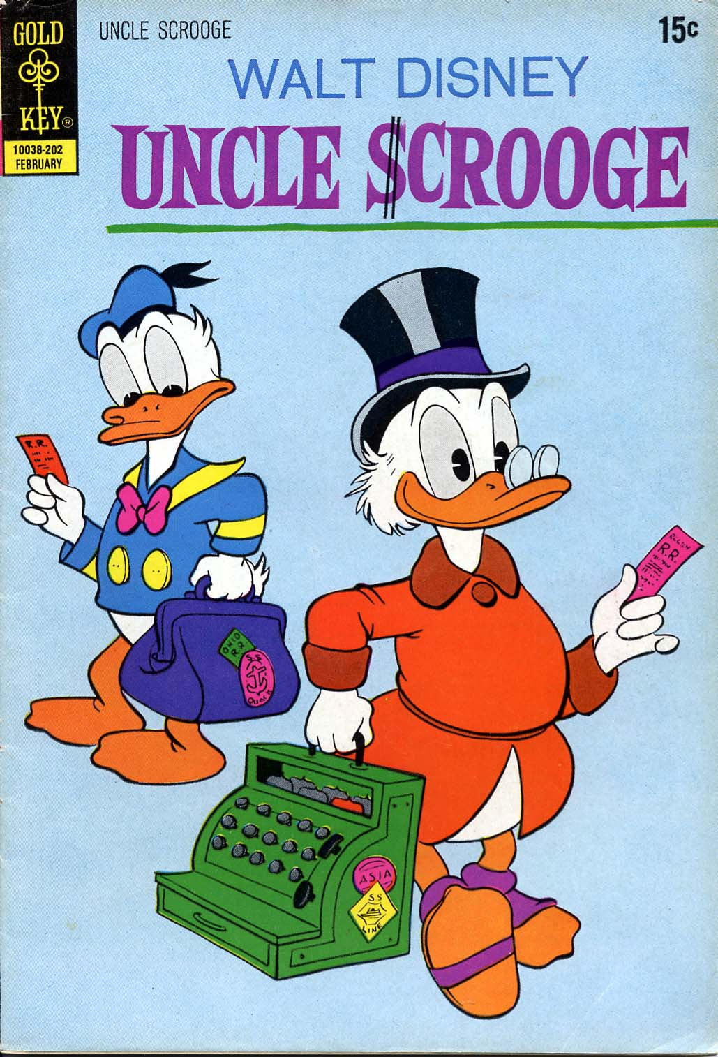 Read online Uncle Scrooge (1953) comic -  Issue #97 - 1