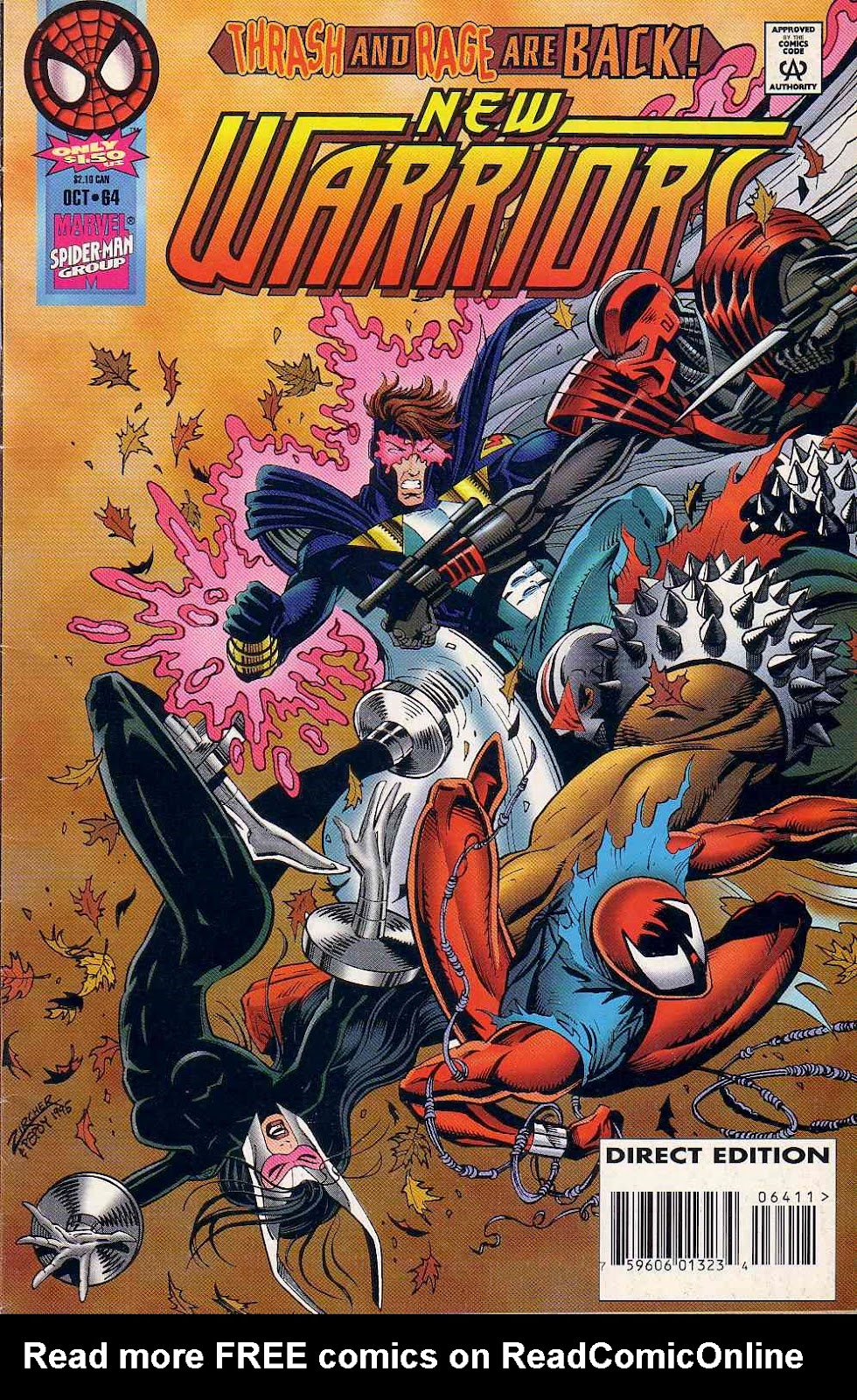 The New Warriors Issue #64 #68 - English 1