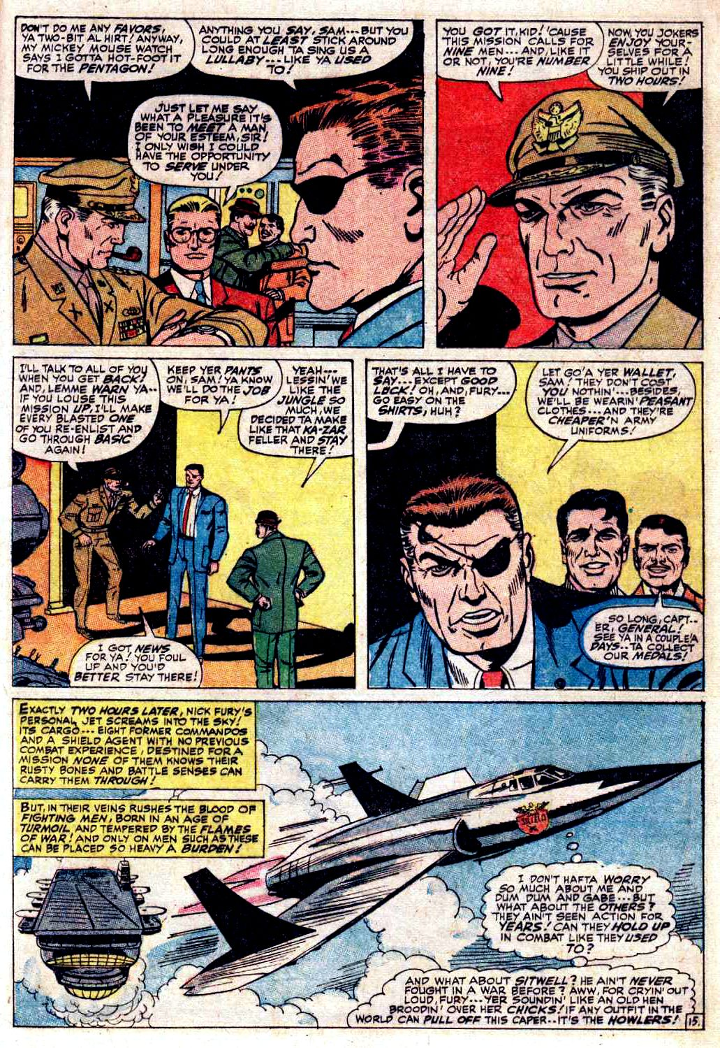 Read online Sgt. Fury comic -  Issue # _Special 3 - 17