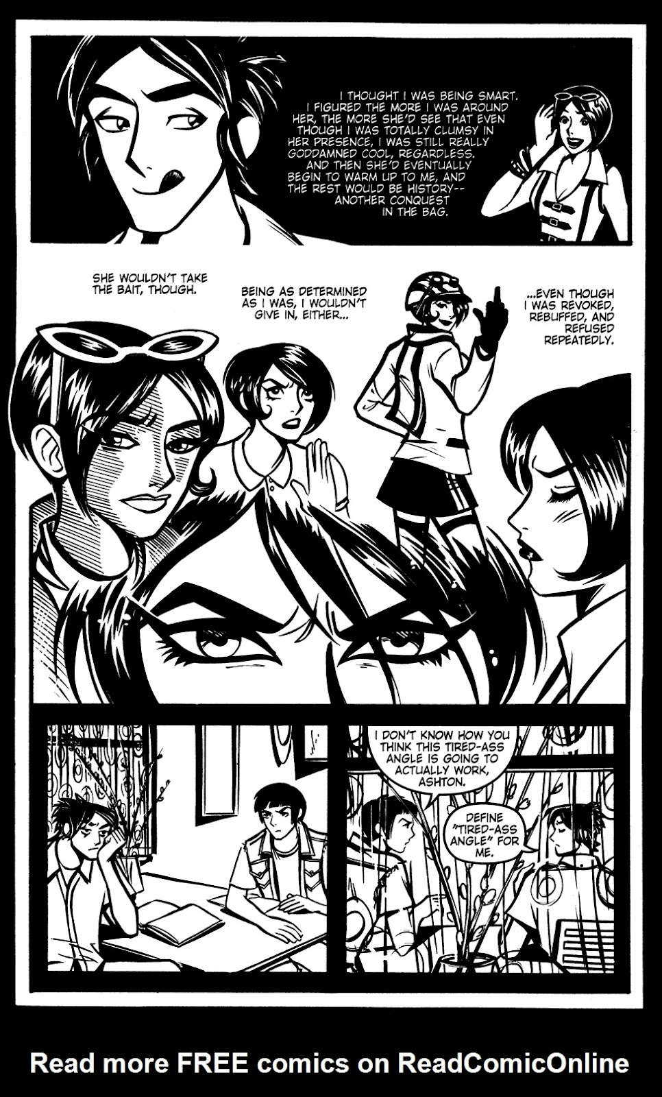 Read online Scooter Girl comic -  Issue #3 - 5