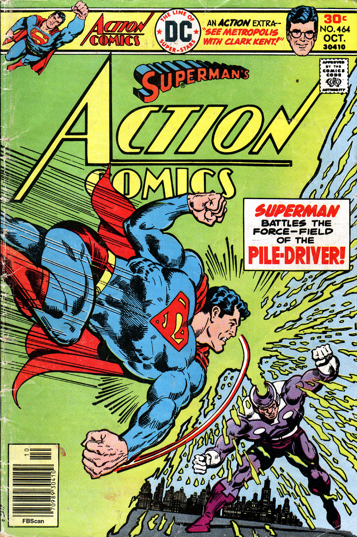 Read online Action Comics (1938) comic -  Issue #464 - 1