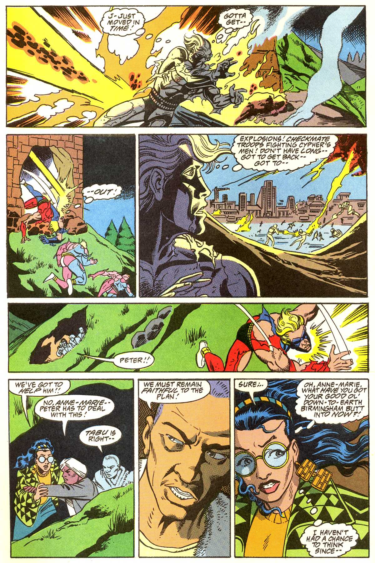 Read online Peter Cannon--Thunderbolt (1992) comic -  Issue #11 - 3