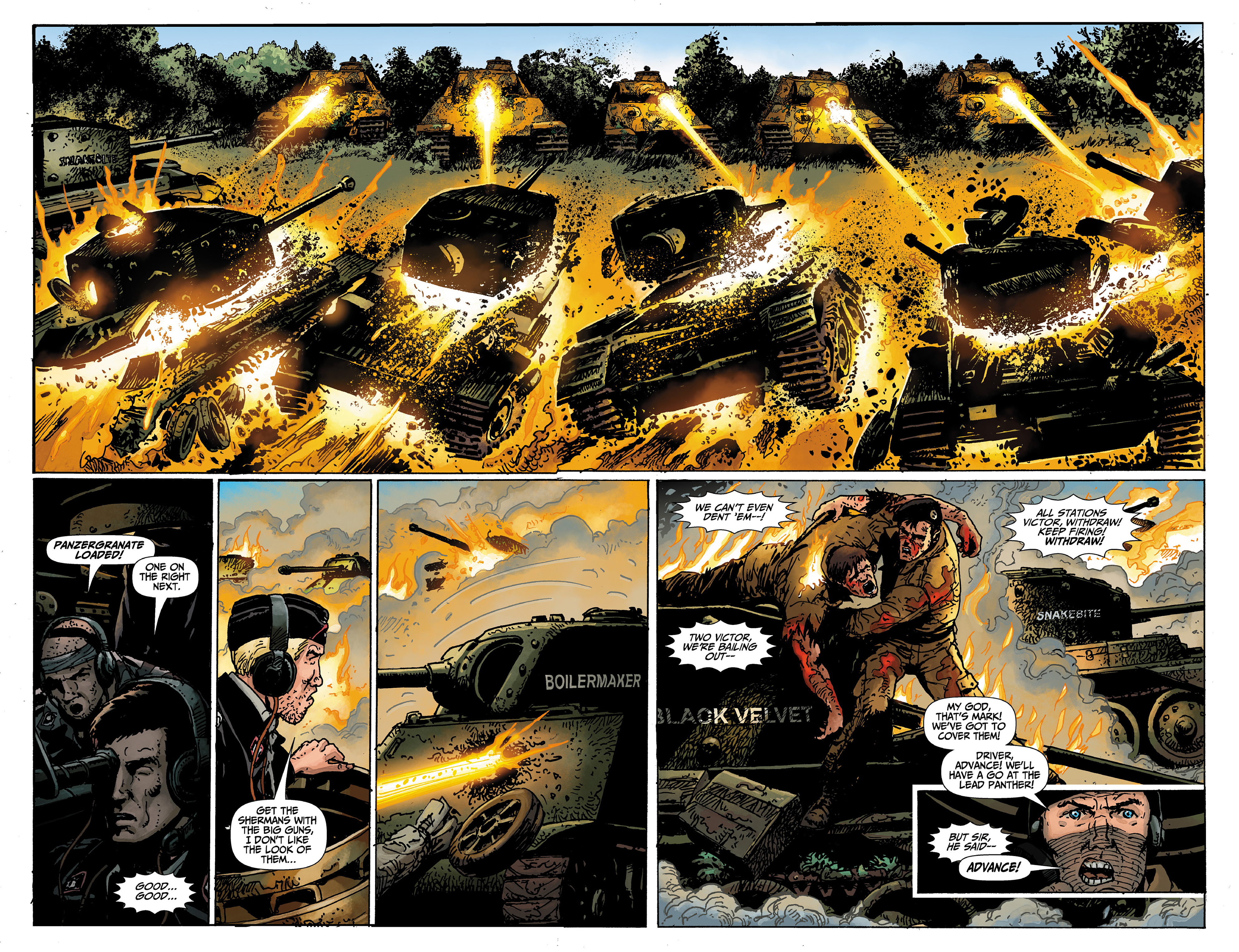 Read online World of Tanks comic -  Issue #1 - 19