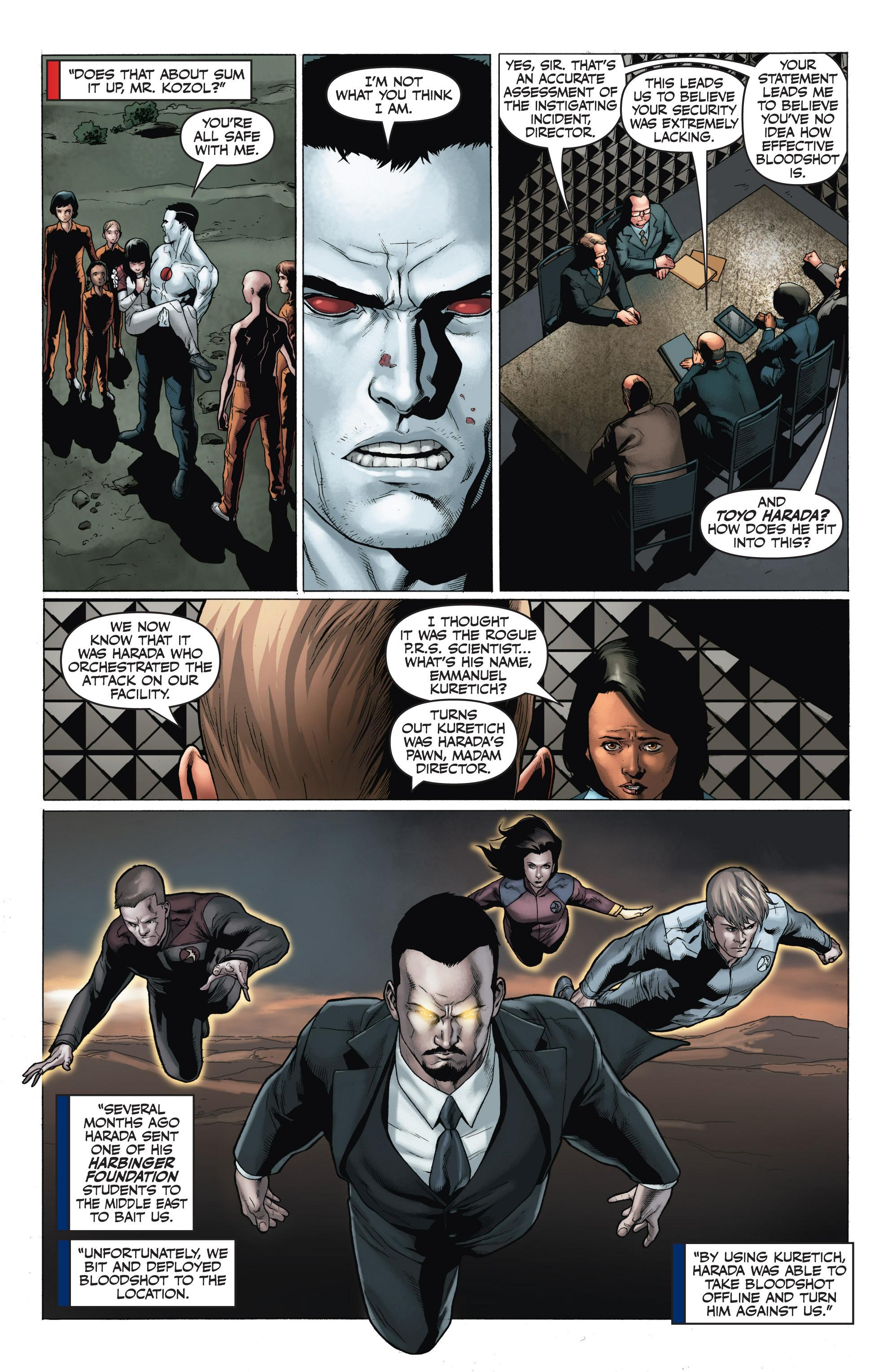 Read online Armor Hunters: Harbinger comic -  Issue # TPB - 103