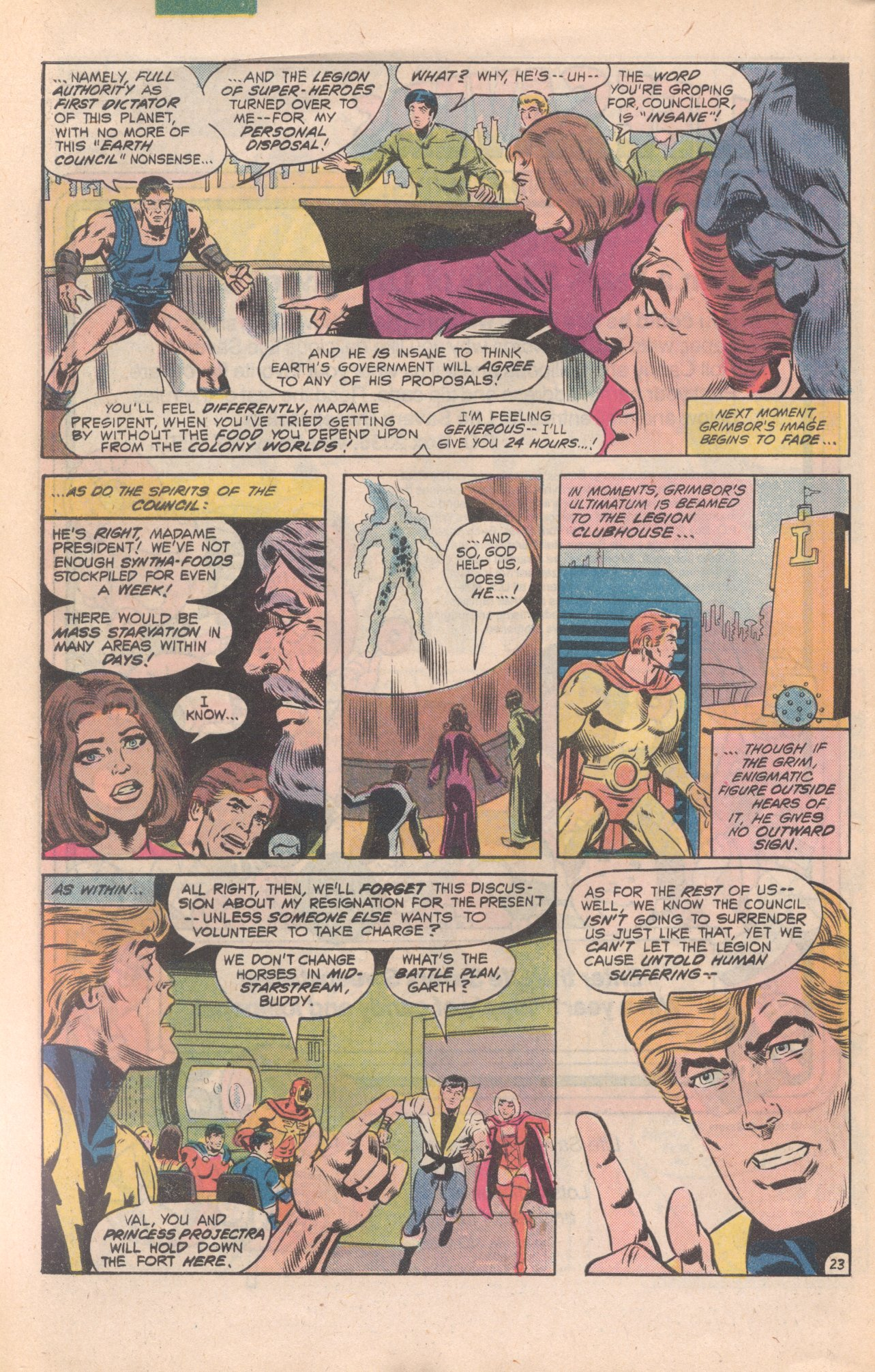 Legion of Super-Heroes (1980) 277 Page 23