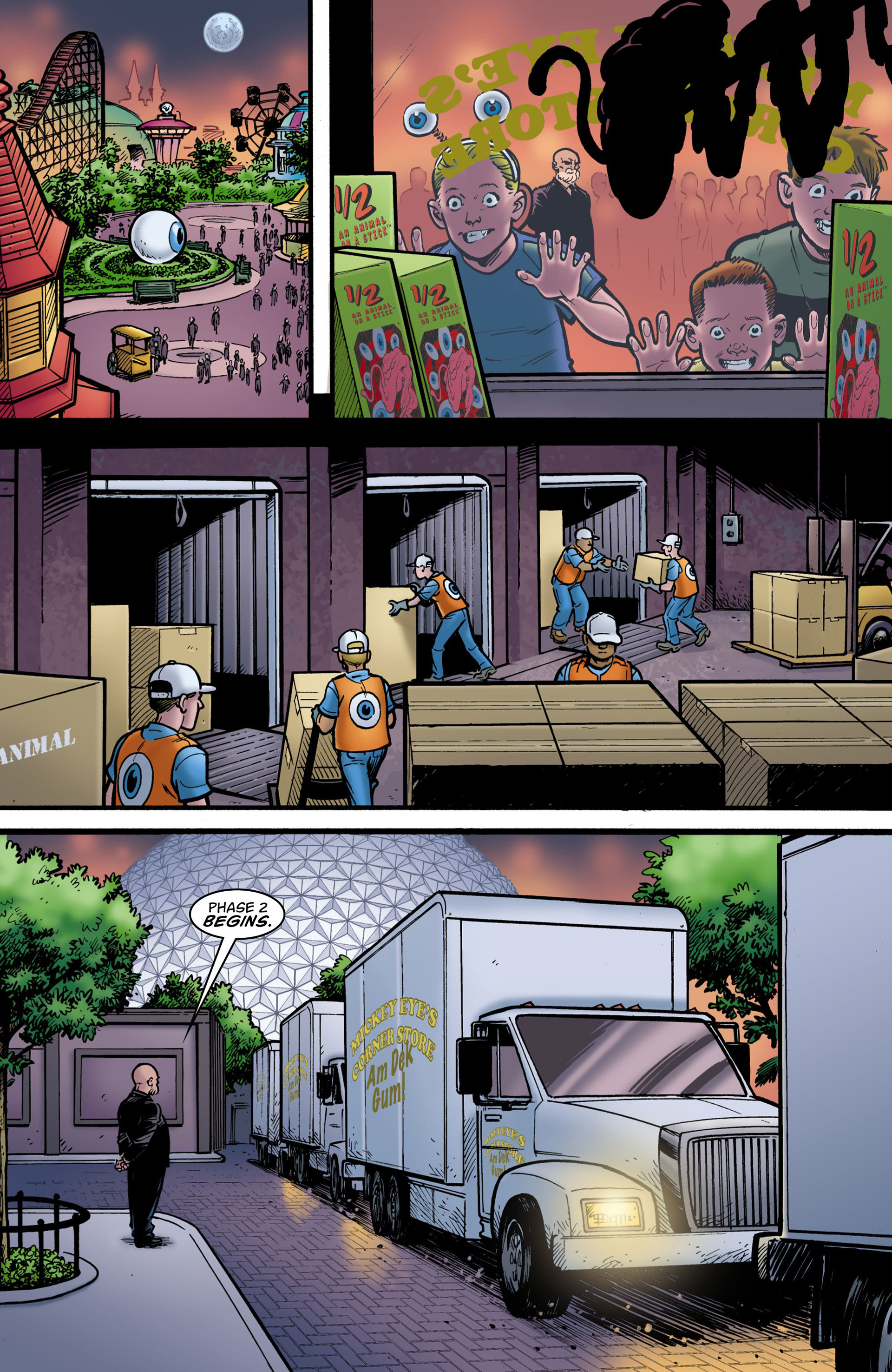 Read online Seaguy: The Slaves of Mickey Eye comic -  Issue #3 - 7