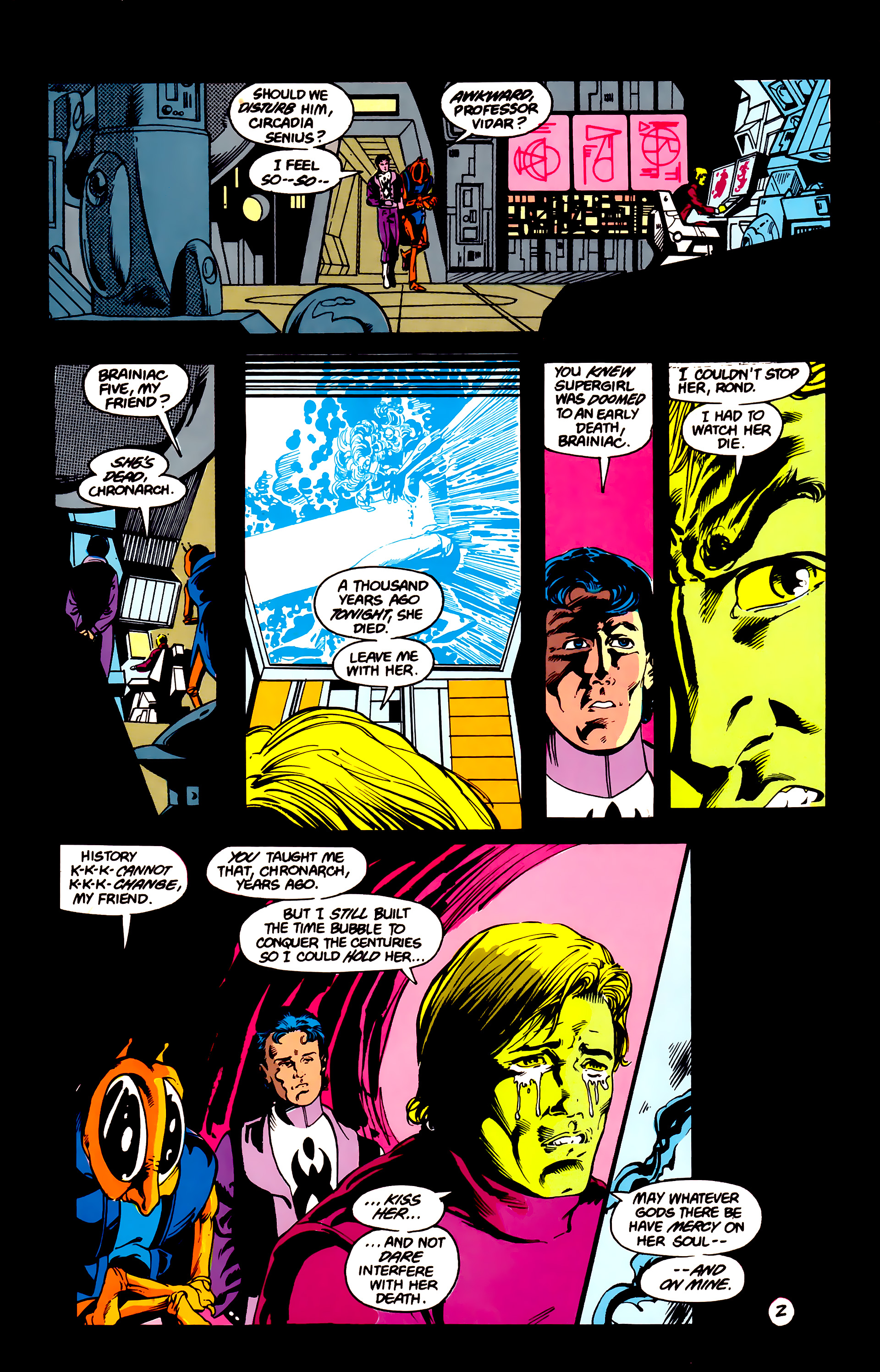 Legion of Super-Heroes (1984) 16 Page 3