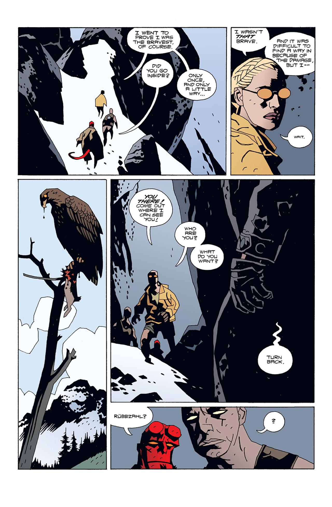 Read online Hellboy: Conqueror Worm comic -  Issue #1 - 19