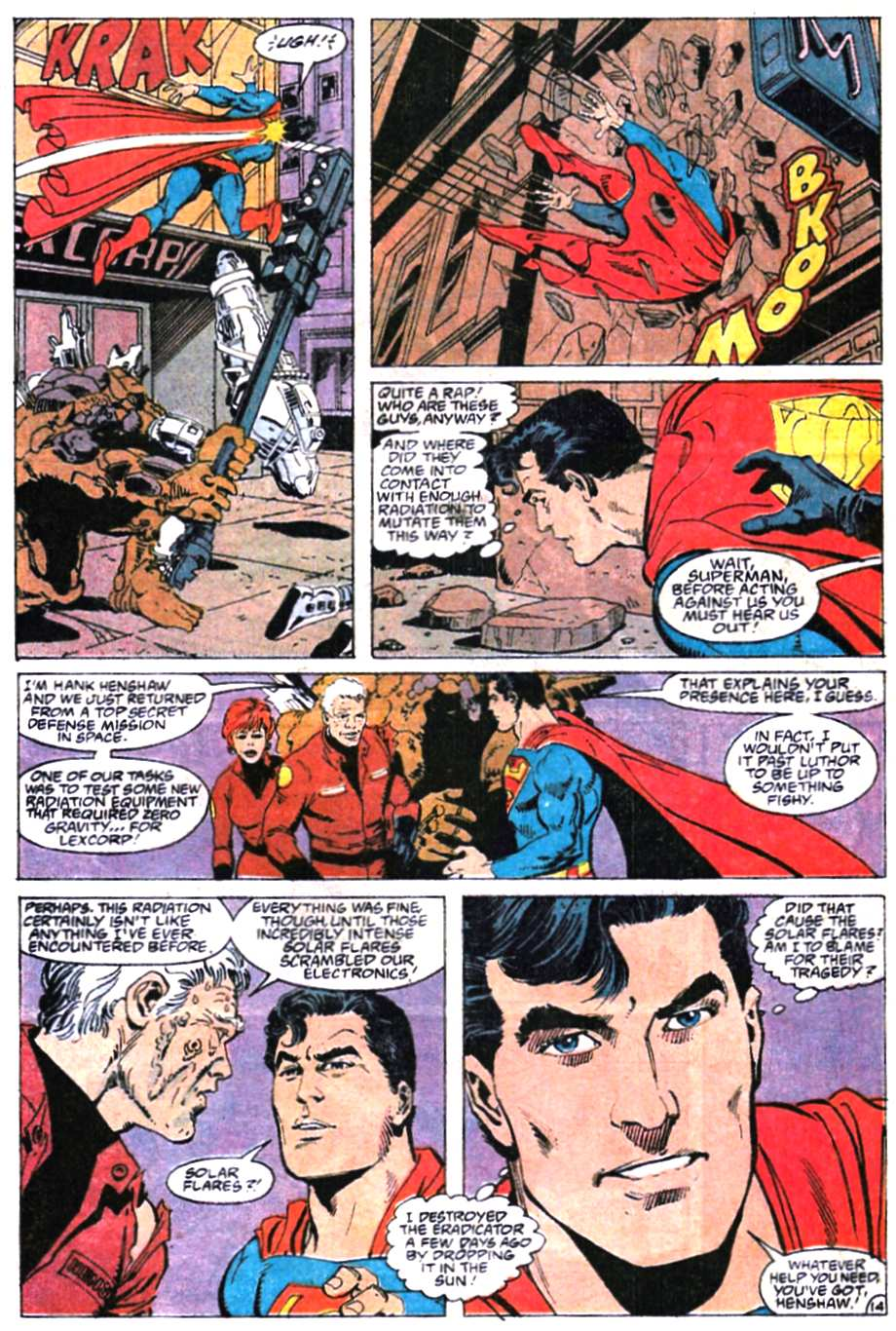 Read online Adventures of Superman (1987) comic -  Issue #466 - 15