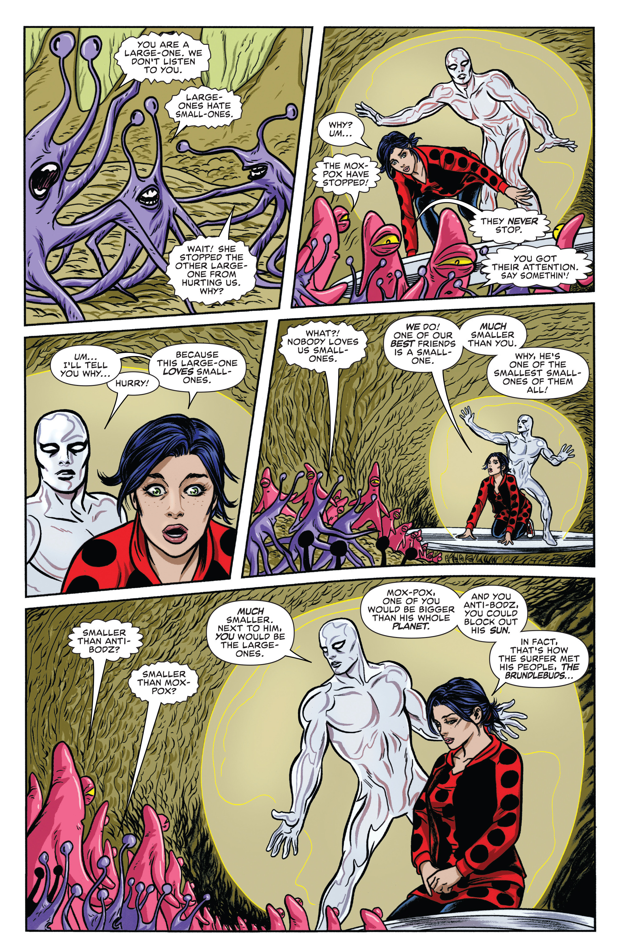 Read online Silver Surfer (2016) comic -  Issue #8 - 7