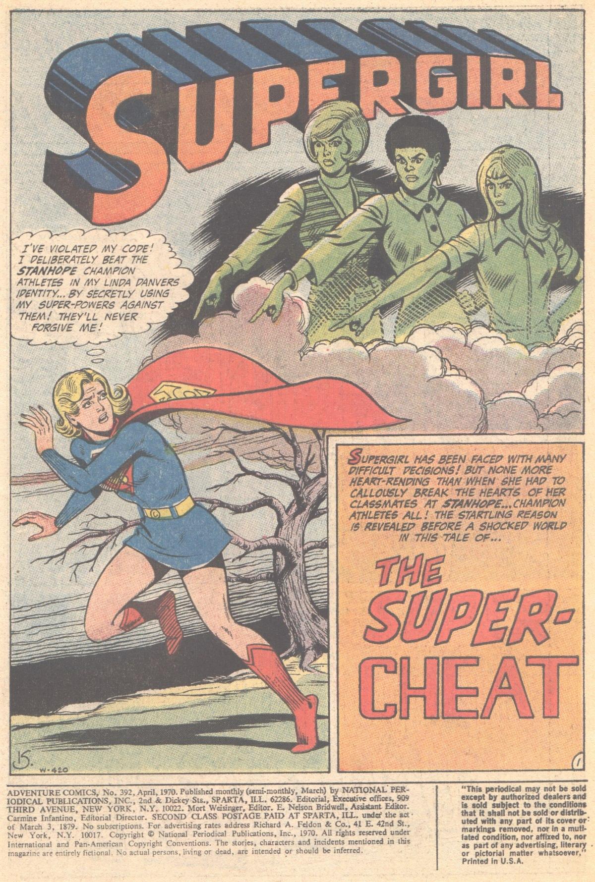 Read online Adventure Comics (1938) comic -  Issue #392 - 3