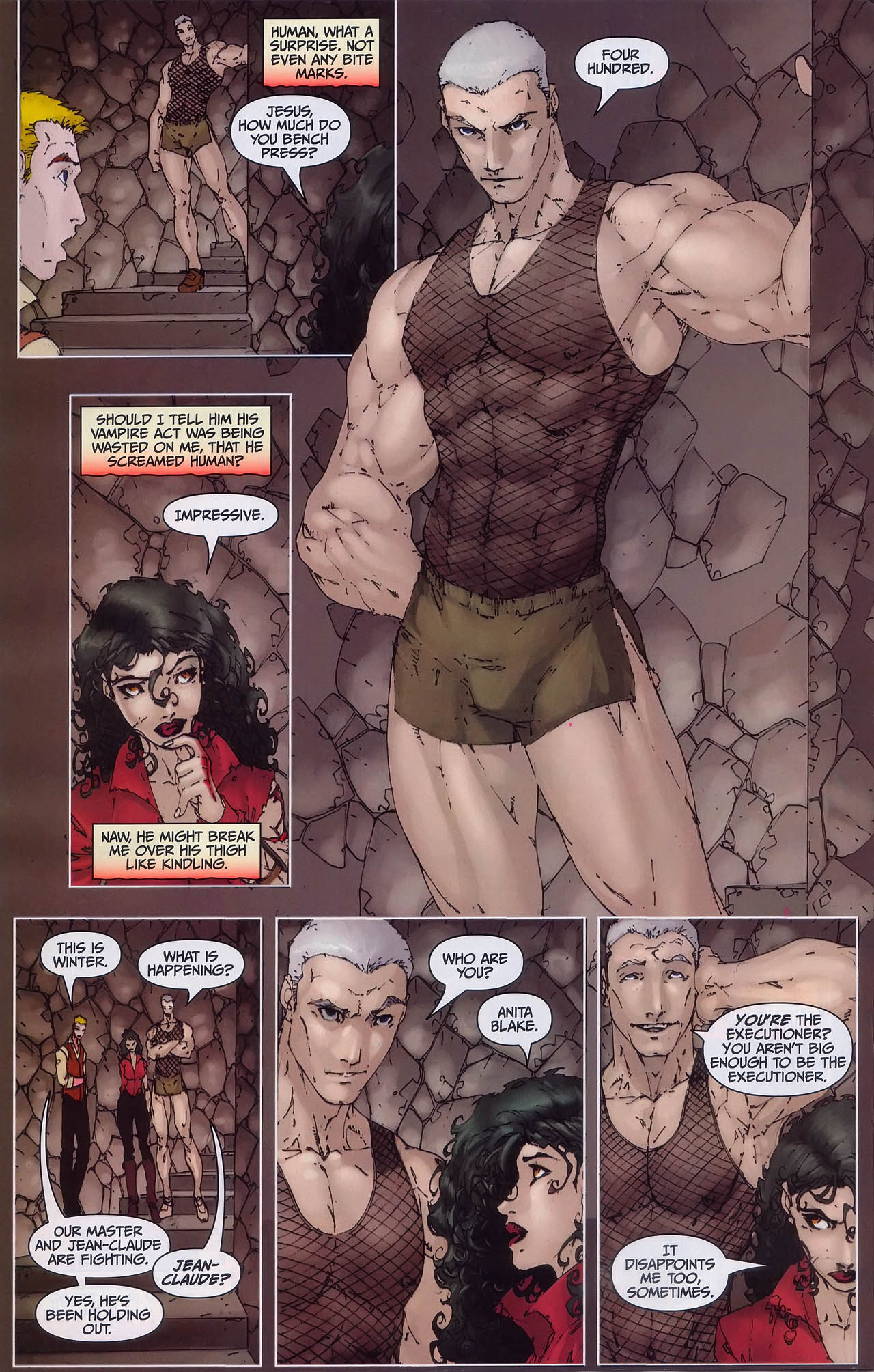Read online Anita Blake, Vampire Hunter: Guilty Pleasures comic -  Issue #3 - 22