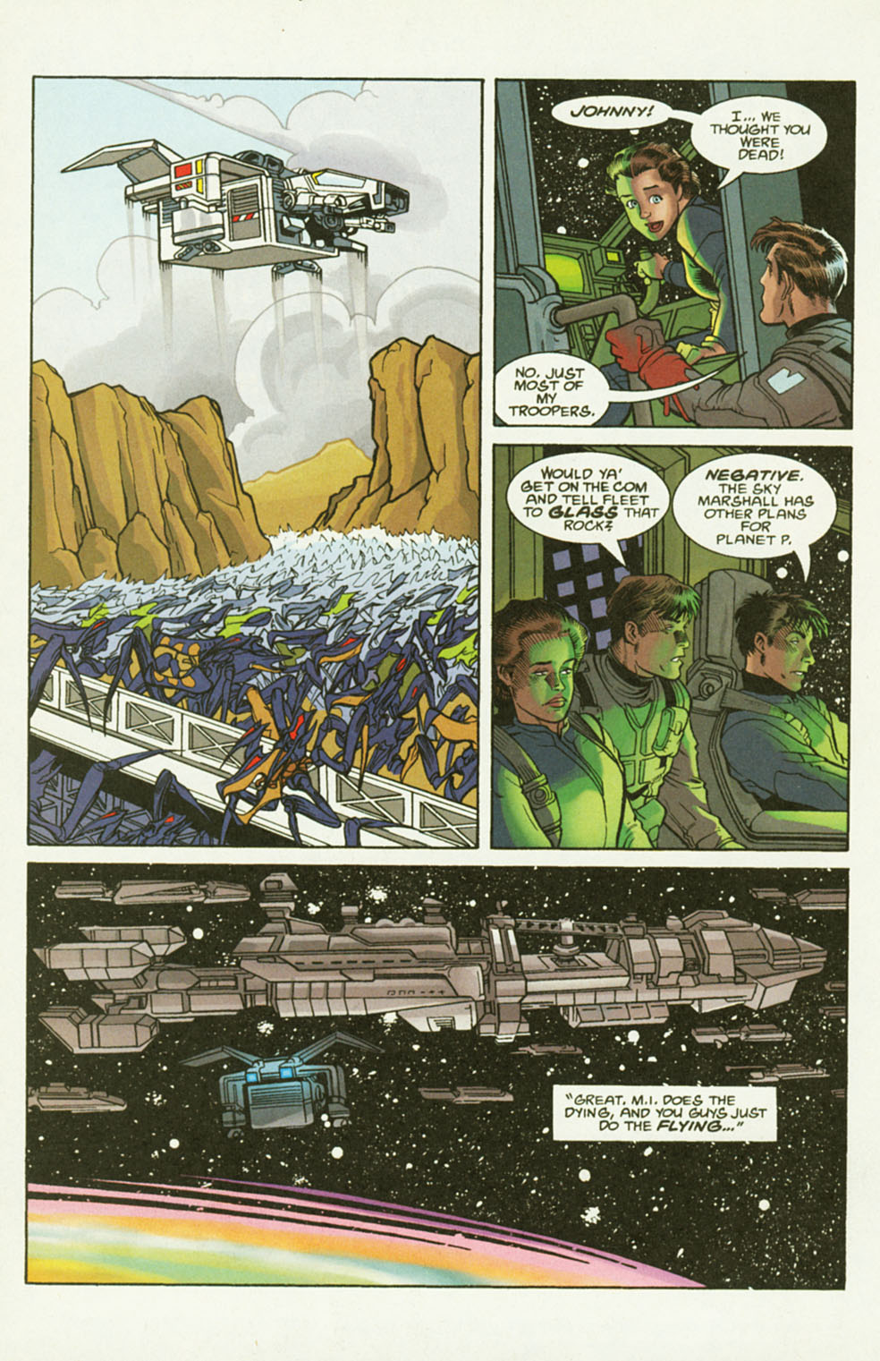 Read online Starship Troopers comic -  Issue #2 - 16