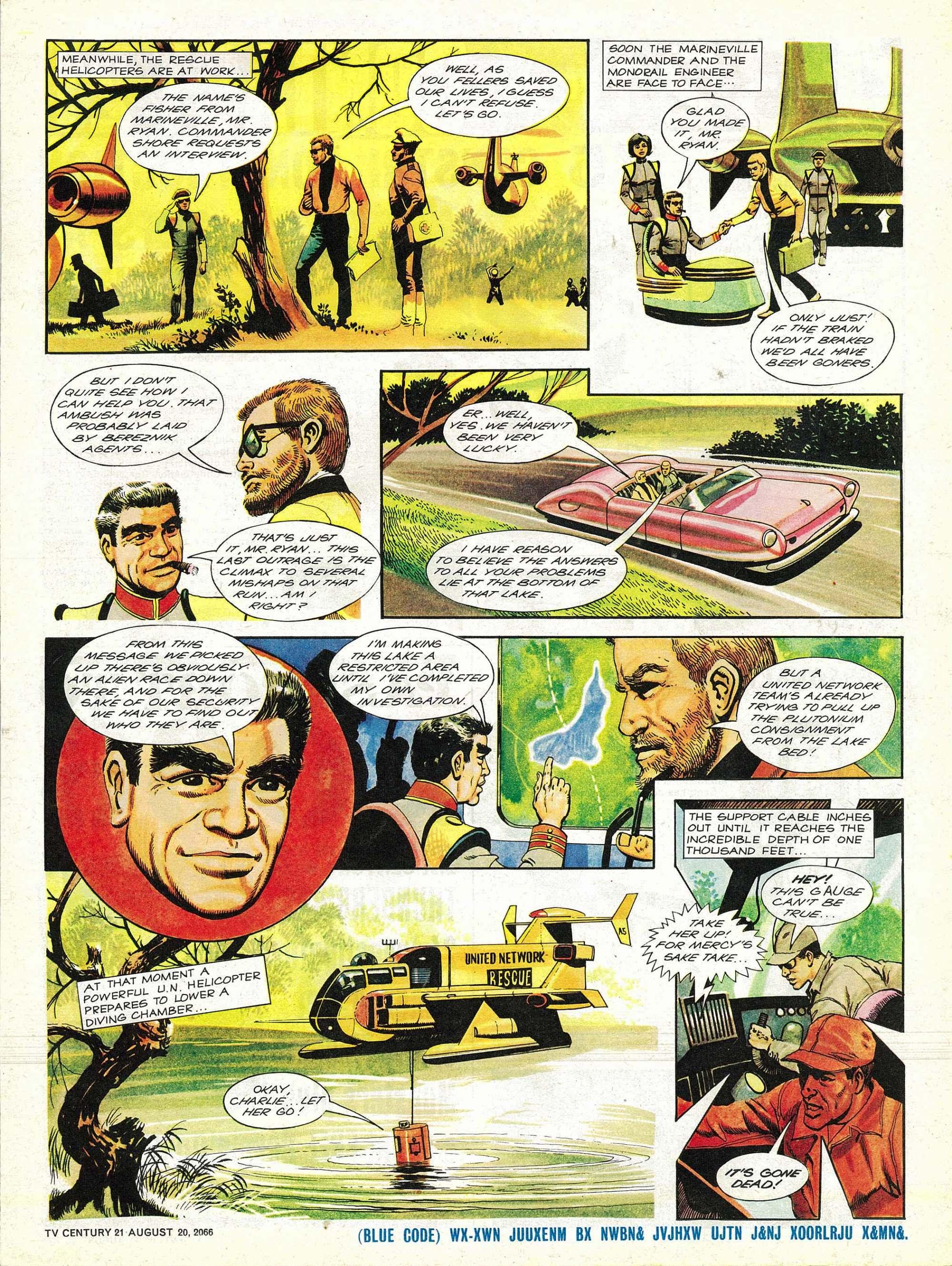 Read online TV Century 21 (TV 21) comic -  Issue #83 - 5