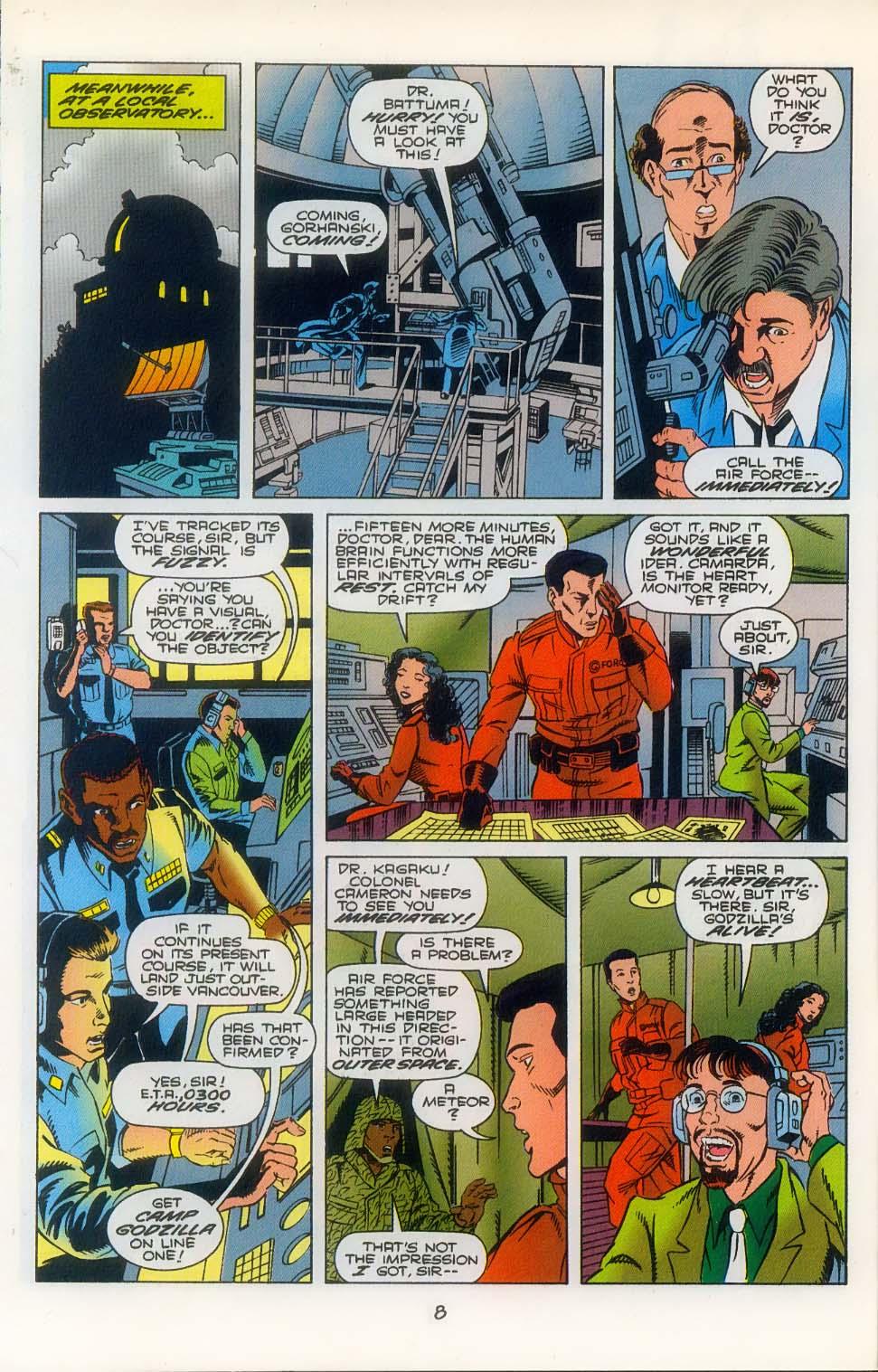 Godzilla (1995) Issue #3 #4 - English 10