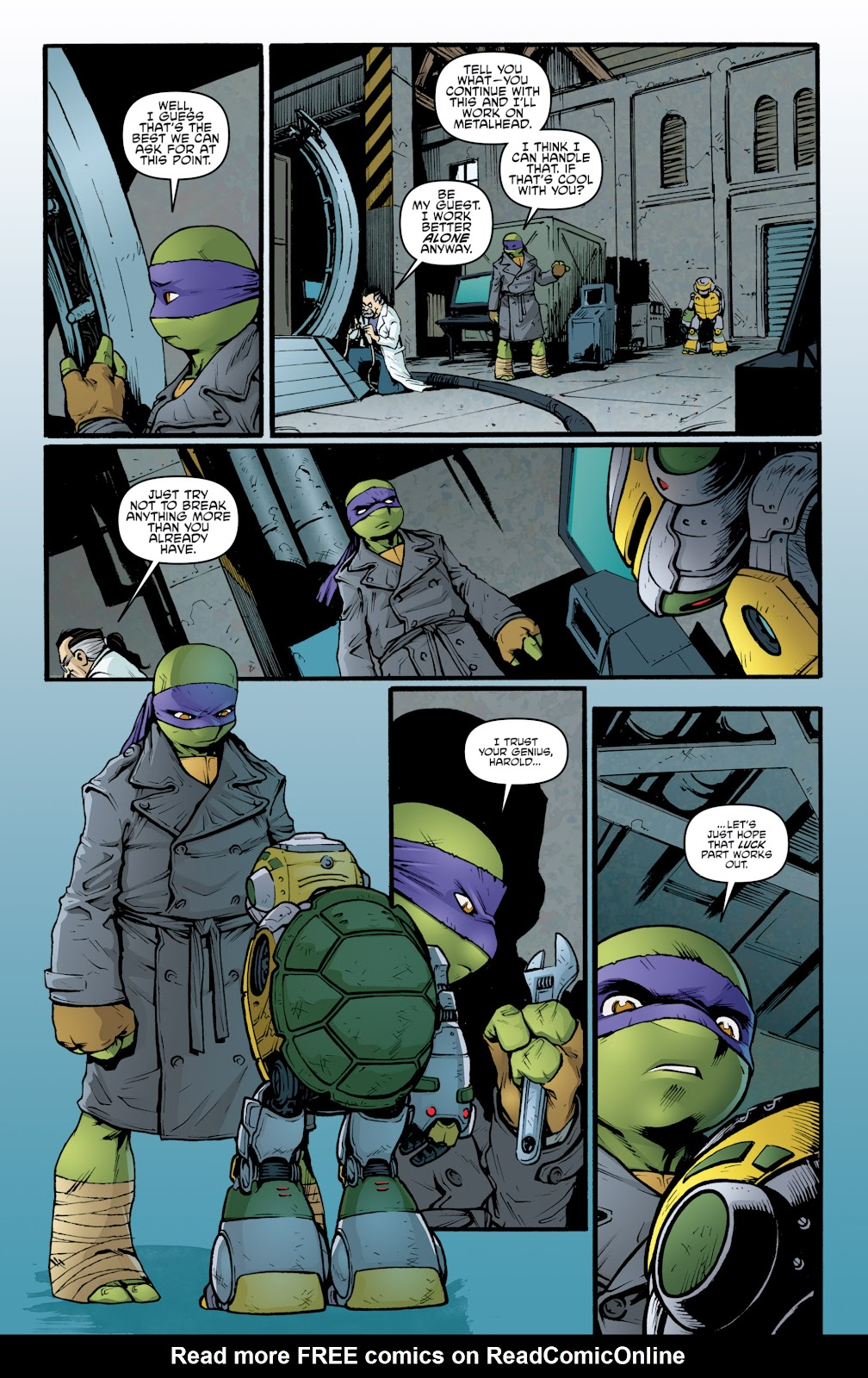 Read online Teenage Mutant Ninja Turtles: The IDW Collection comic -  Issue # TPB 5 (Part 2) - 34