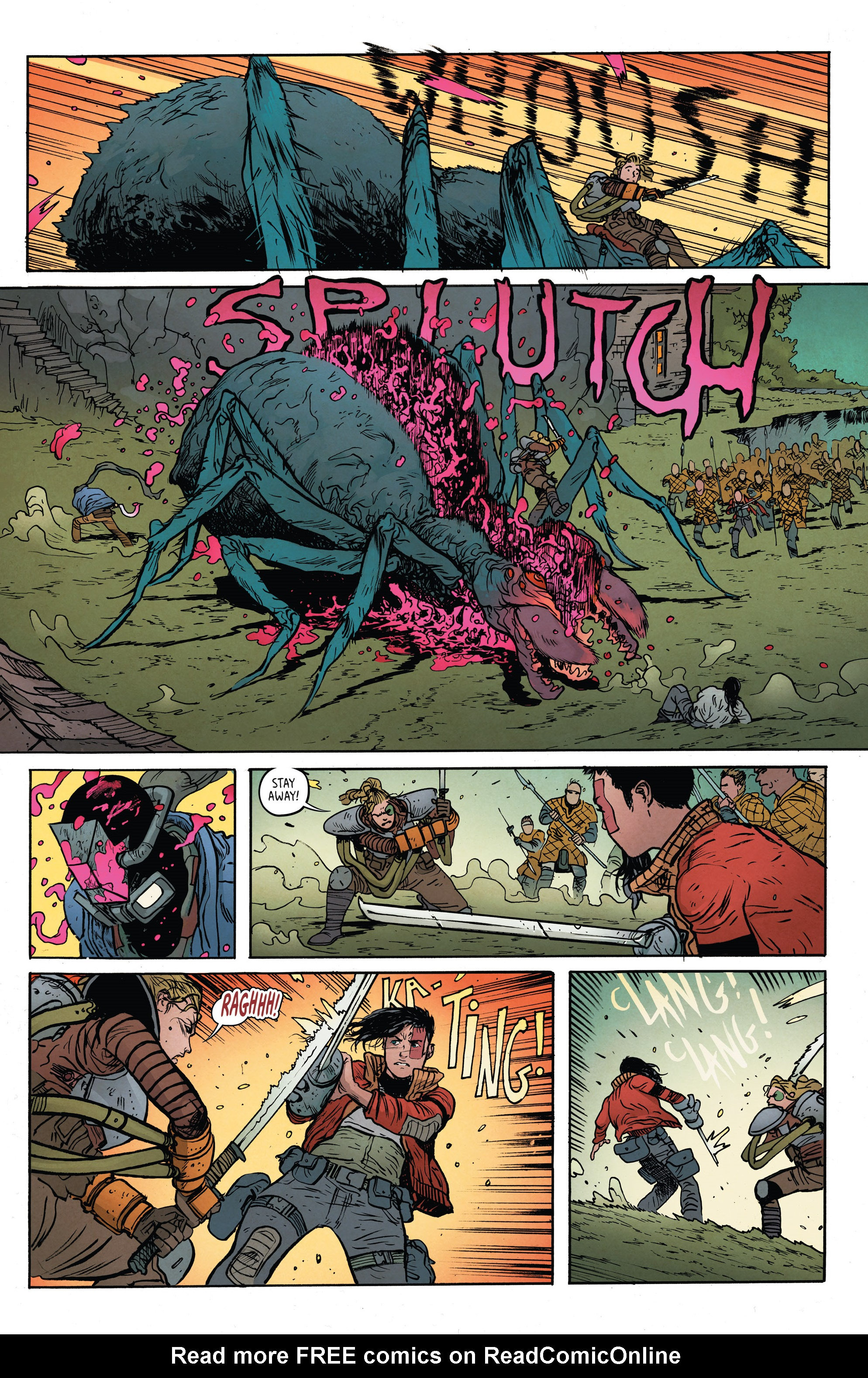 Read online Extremity comic -  Issue #4 - 17