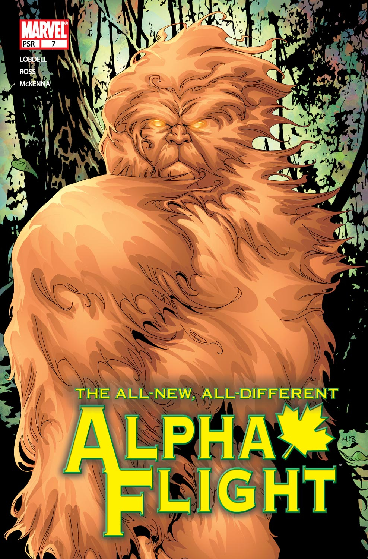 Alpha Flight (2004) issue 7 - Page 1