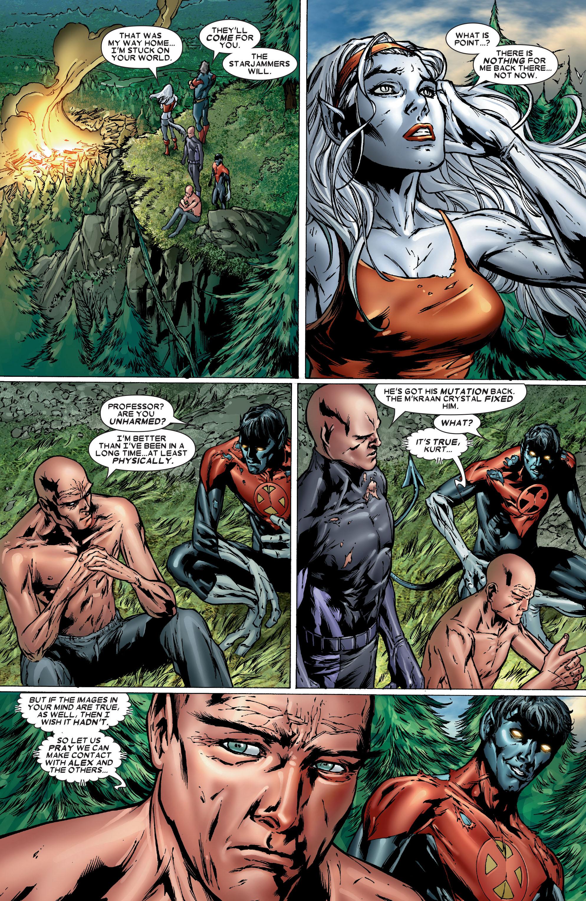 Read online Uncanny X-Men (1963) comic -  Issue #486 - 22