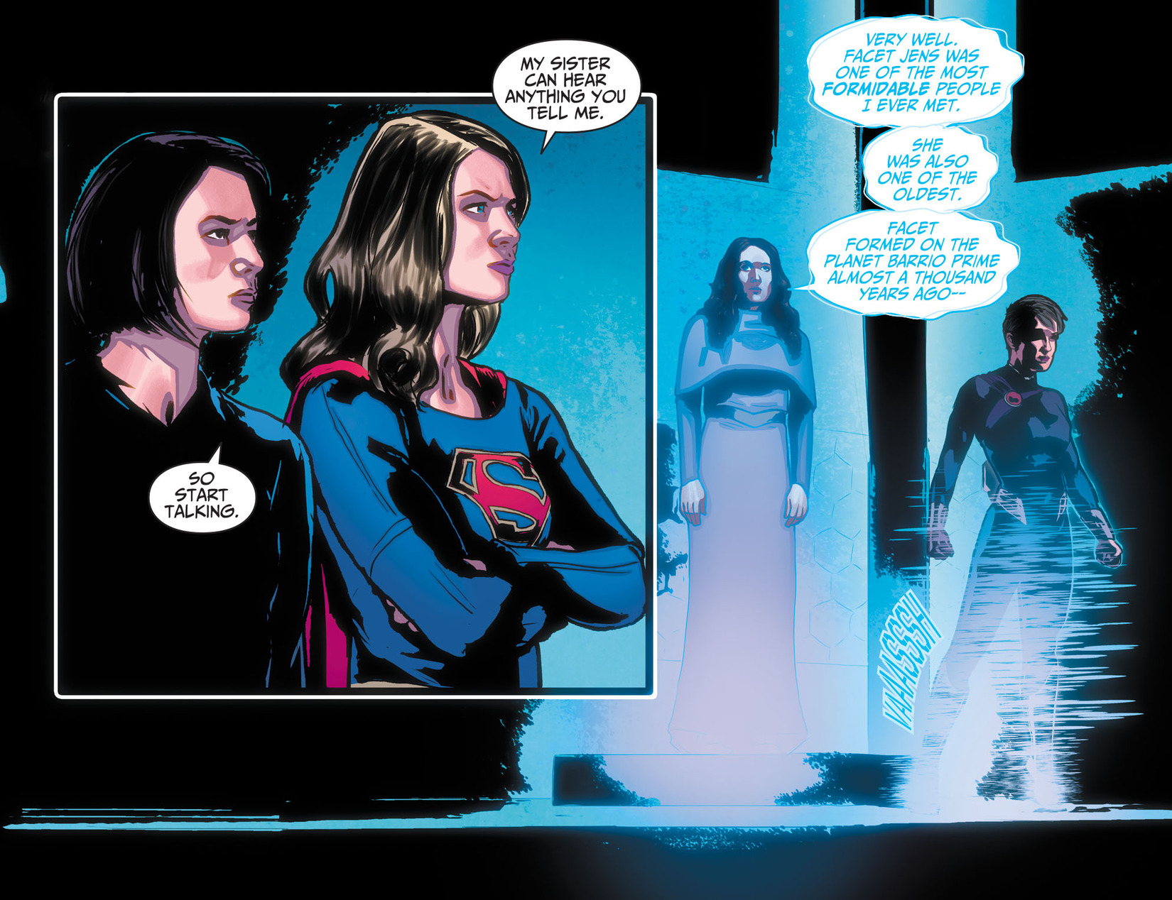 Read online Adventures of Supergirl comic -  Issue #10 - 8