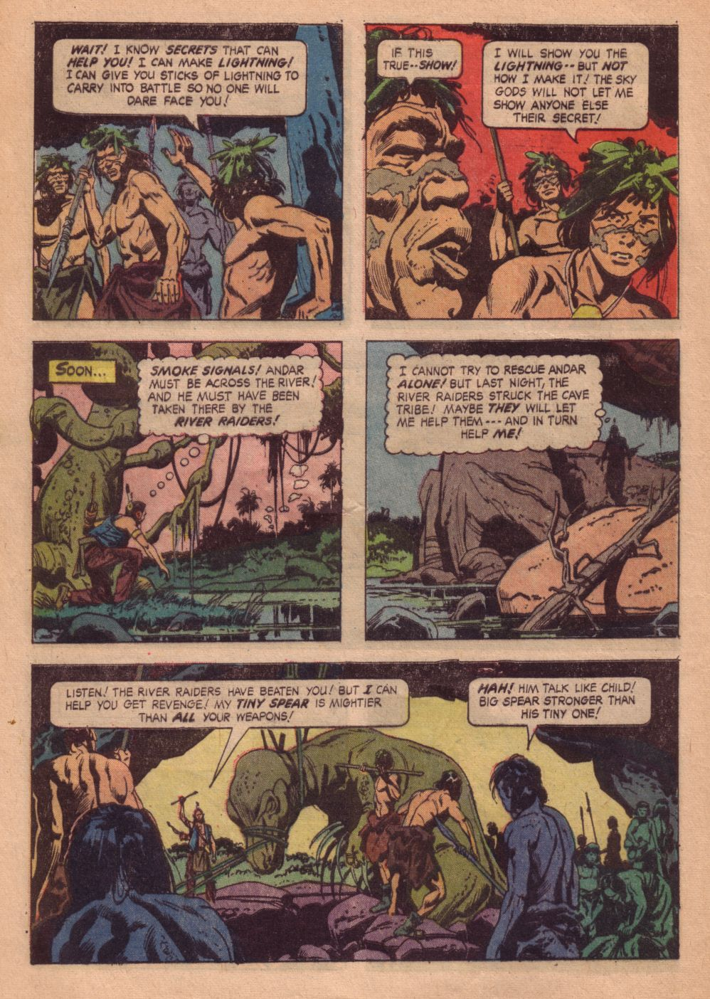 Read online Turok, Son of Stone comic -  Issue #41 - 28