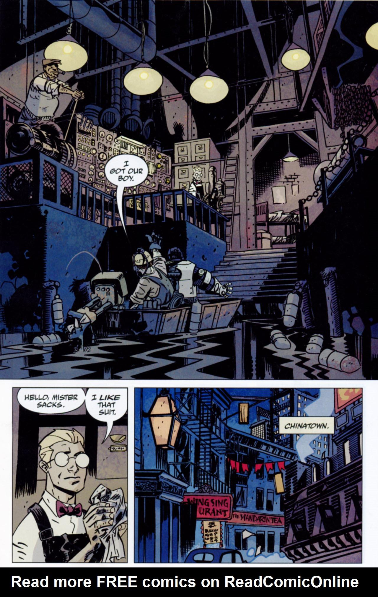 Read online Lobster Johnson: The Iron Prometheus comic -  Issue #1 - 19