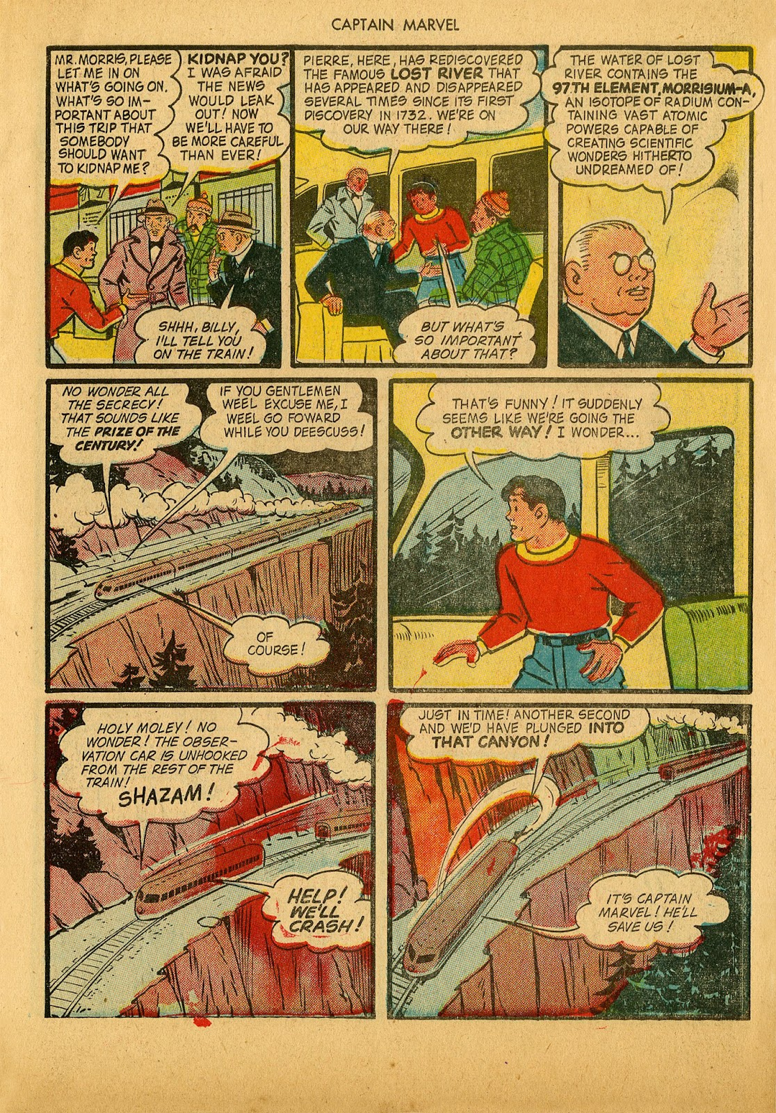 Captain Marvel Adventures issue 36 - Page 19