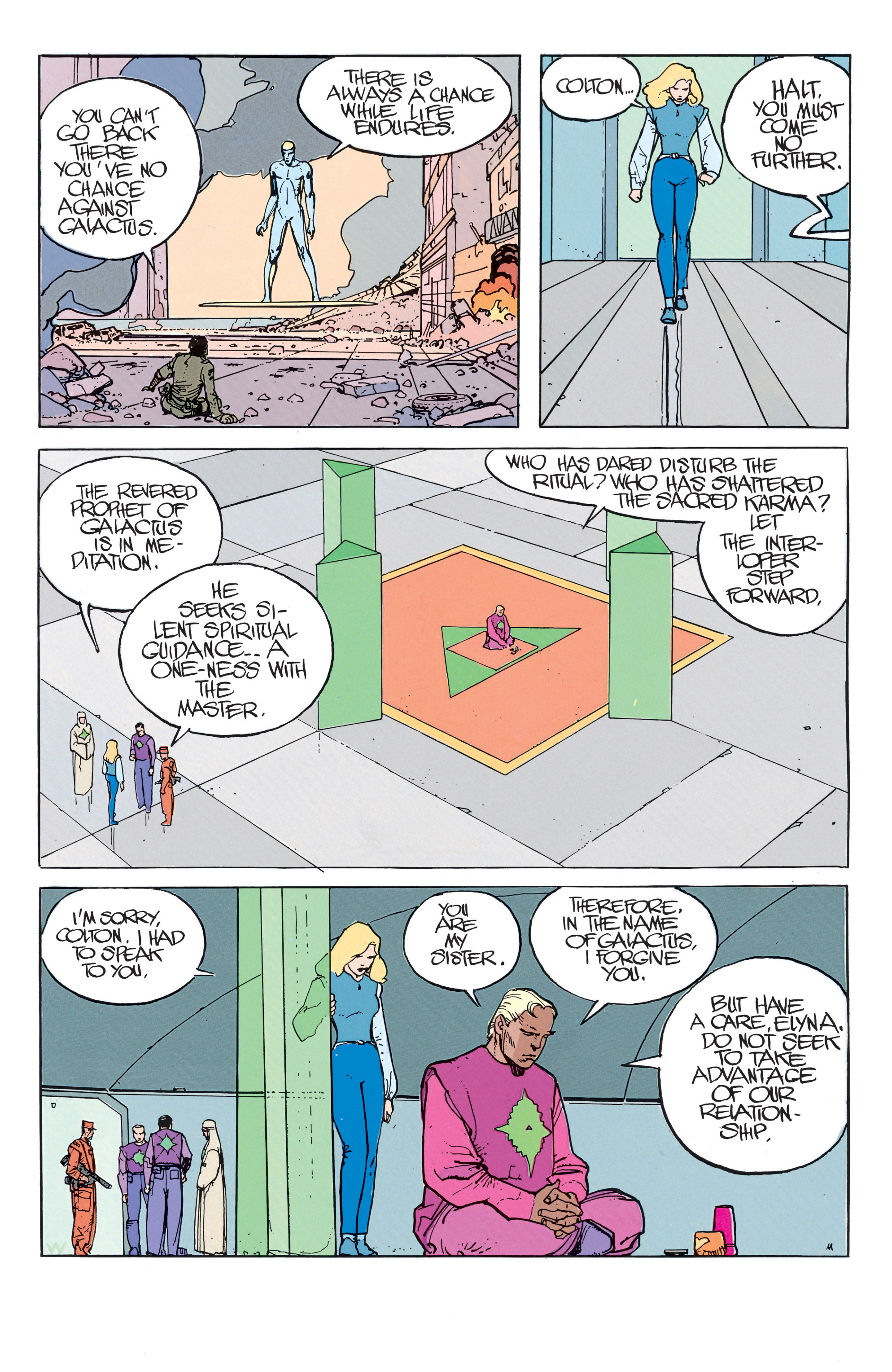 Read online Silver Surfer: Parable comic -  Issue # TPB - 30