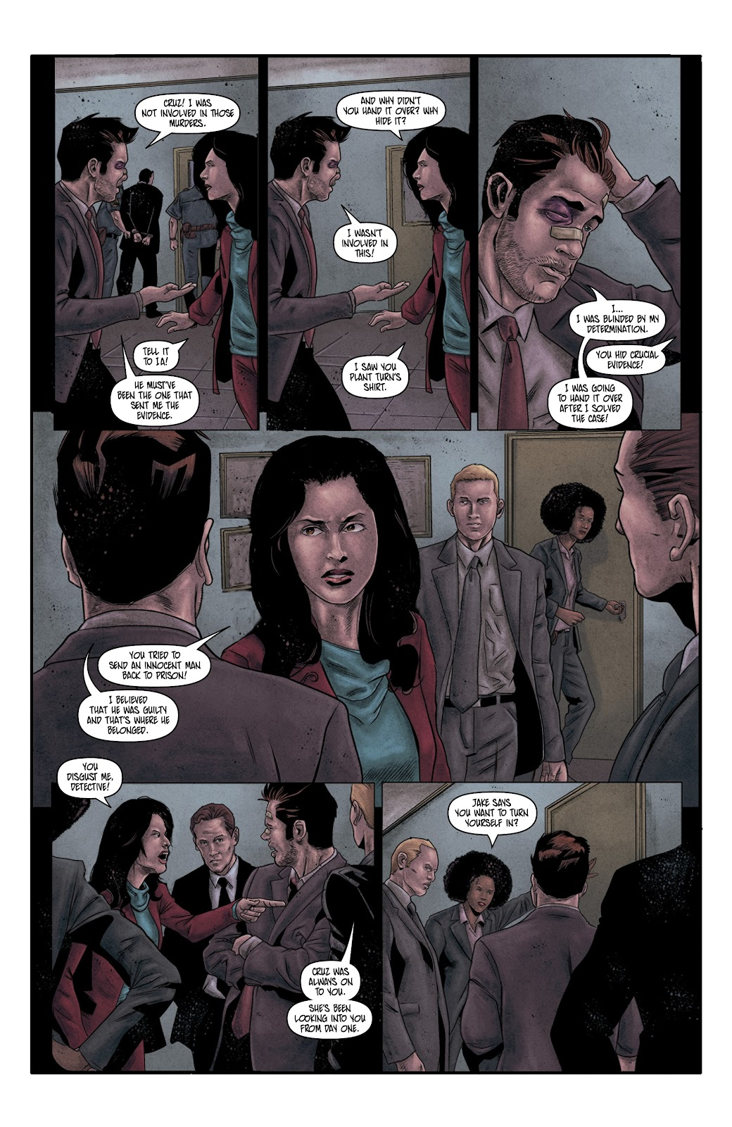 Read online Vindication comic -  Issue #4 - 23