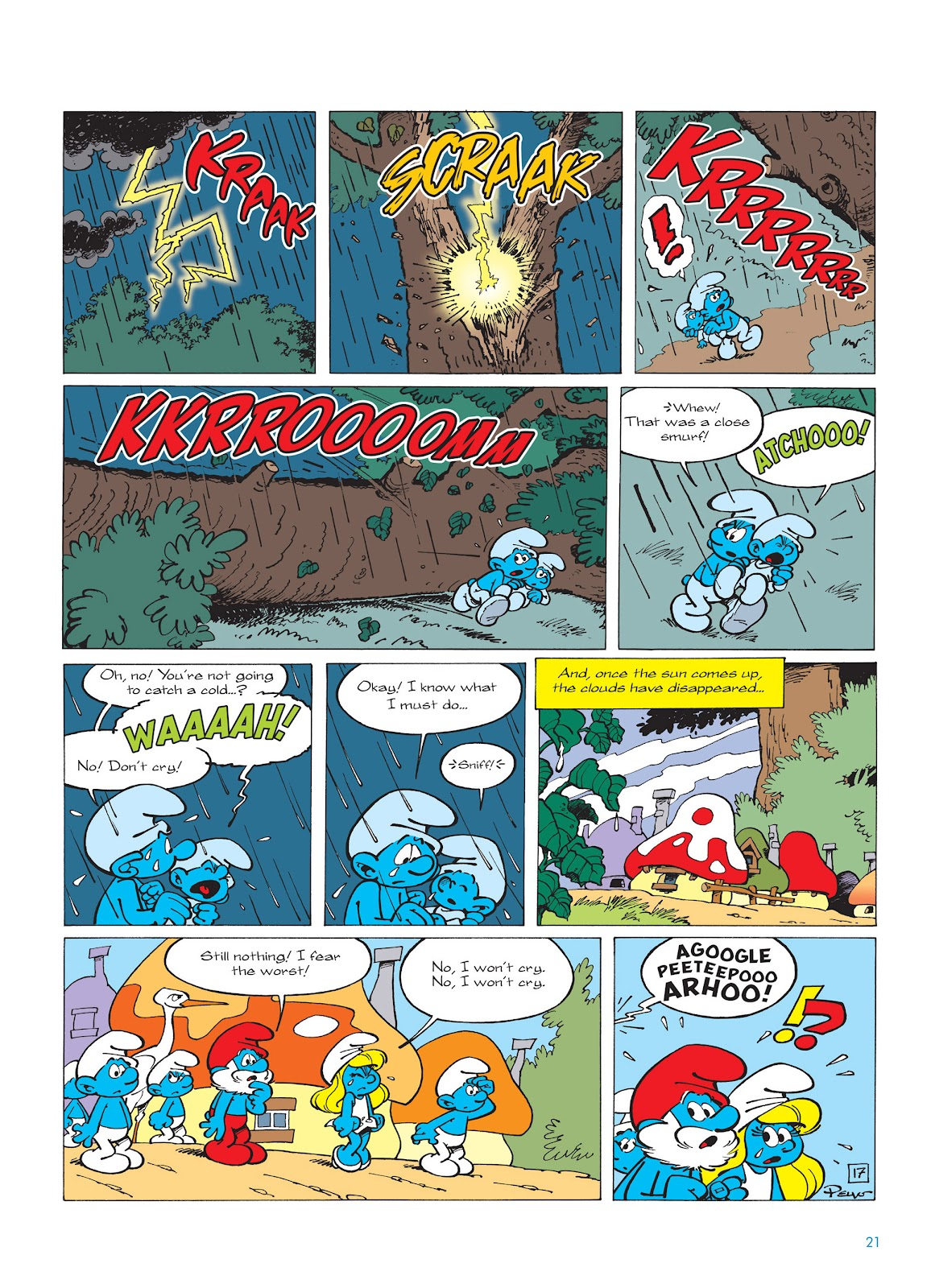Read online The Smurfs comic -  Issue #14 - 22