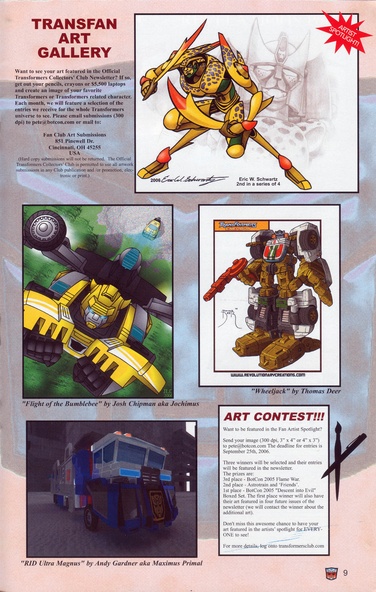 Read online Transformers: Collectors' Club comic -  Issue #10 - 9