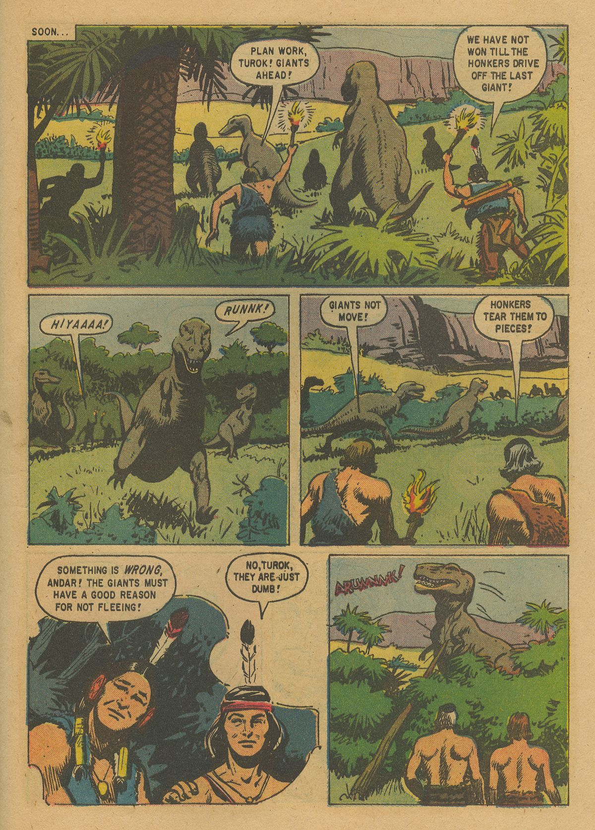 Read online Turok, Son of Stone comic -  Issue #19 - 29