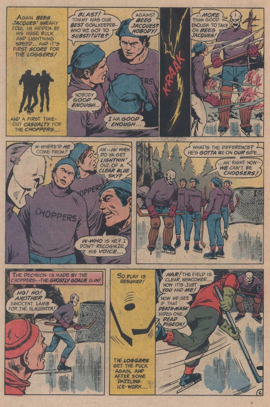 Read online Strange Sports Stories (1973) comic -  Issue #5 - 10