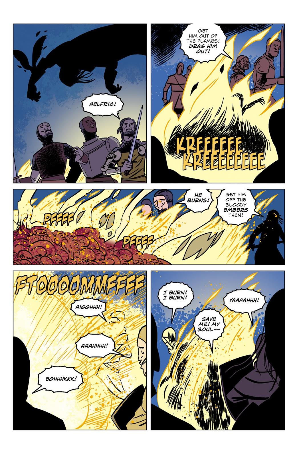 Read online Dark Ages comic -  Issue #1 - 9
