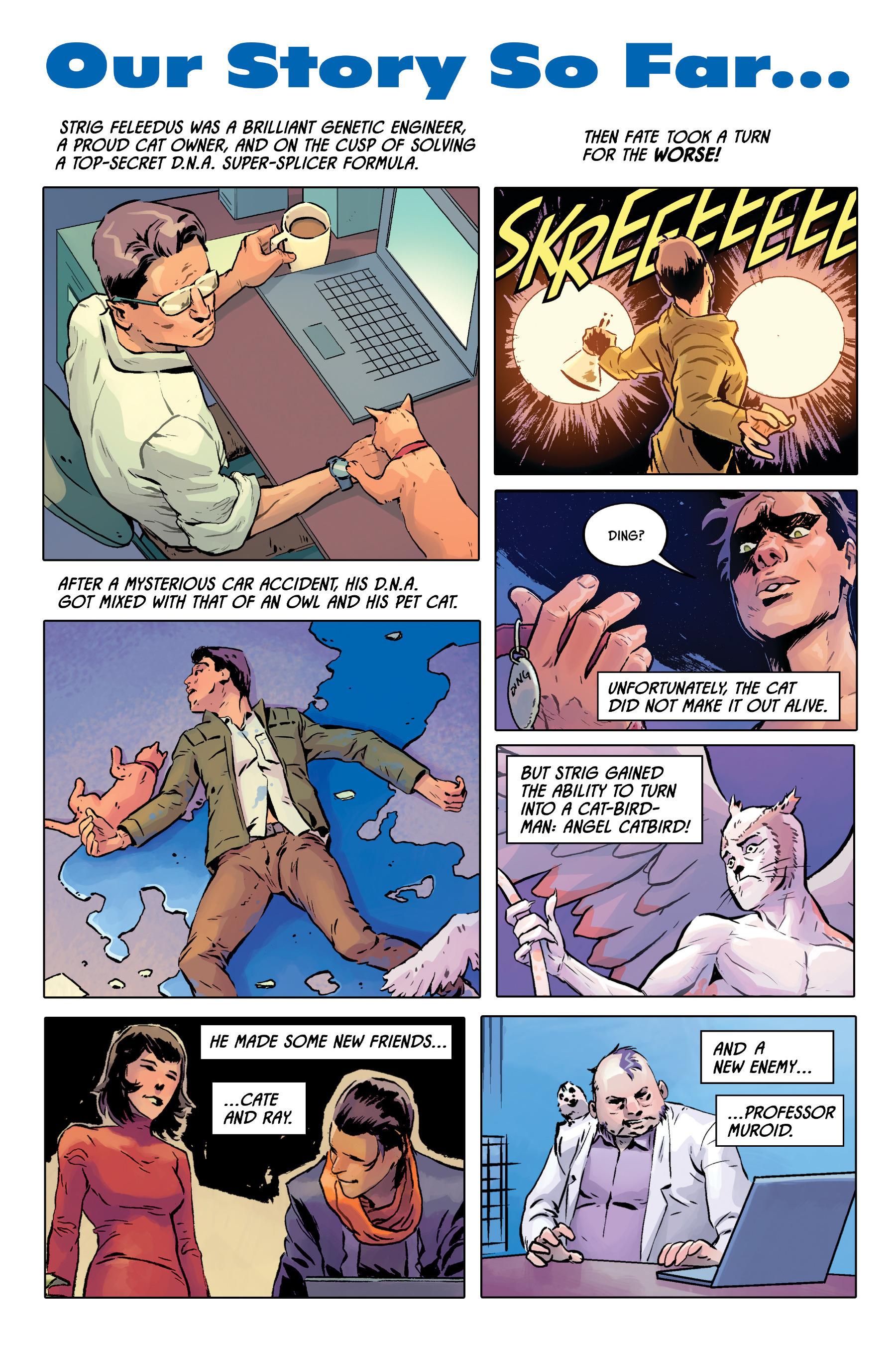 Read online Angel Catbird comic -  Issue # TPB 2 - 8