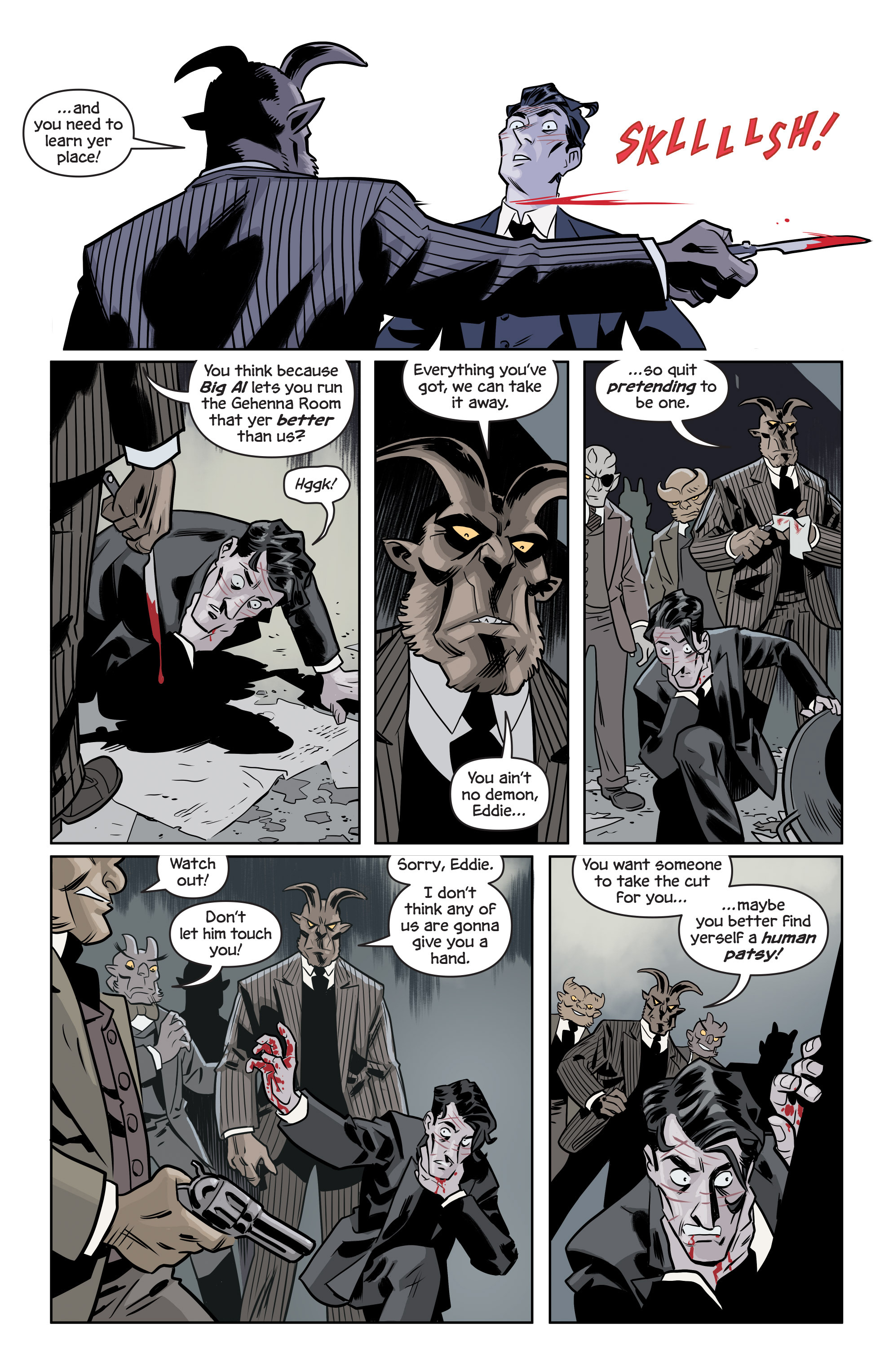 Read online The Damned comic -  Issue #1 - 23