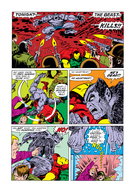 Read online Amazing Adventures (1970) comic -  Issue #12 - 20