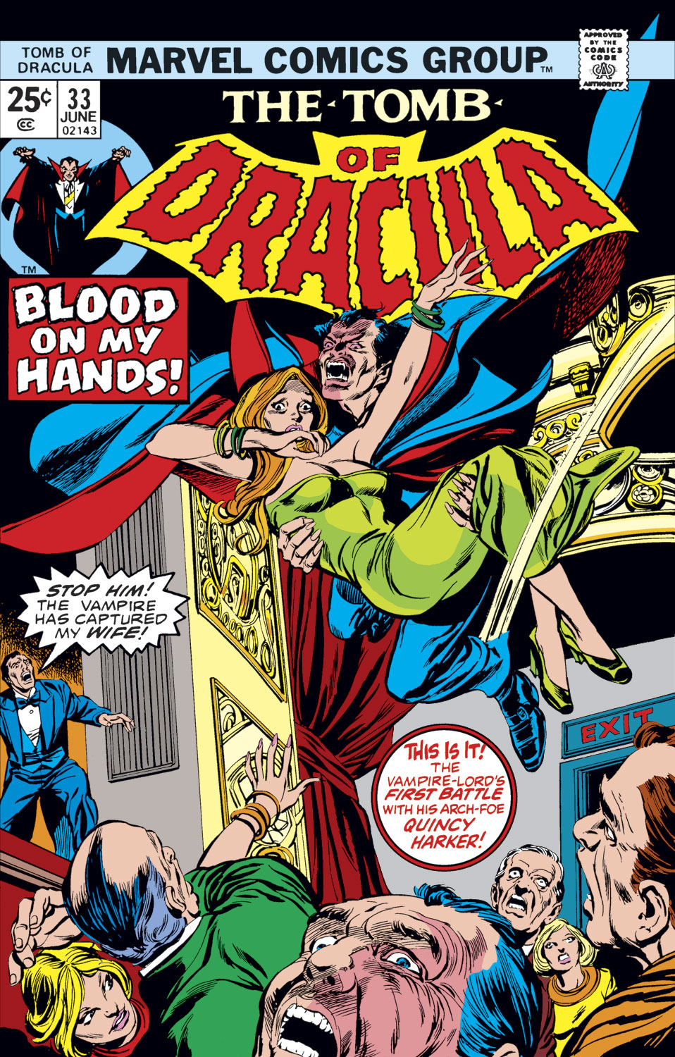 Tomb of Dracula (1972) issue 33 - Page 1