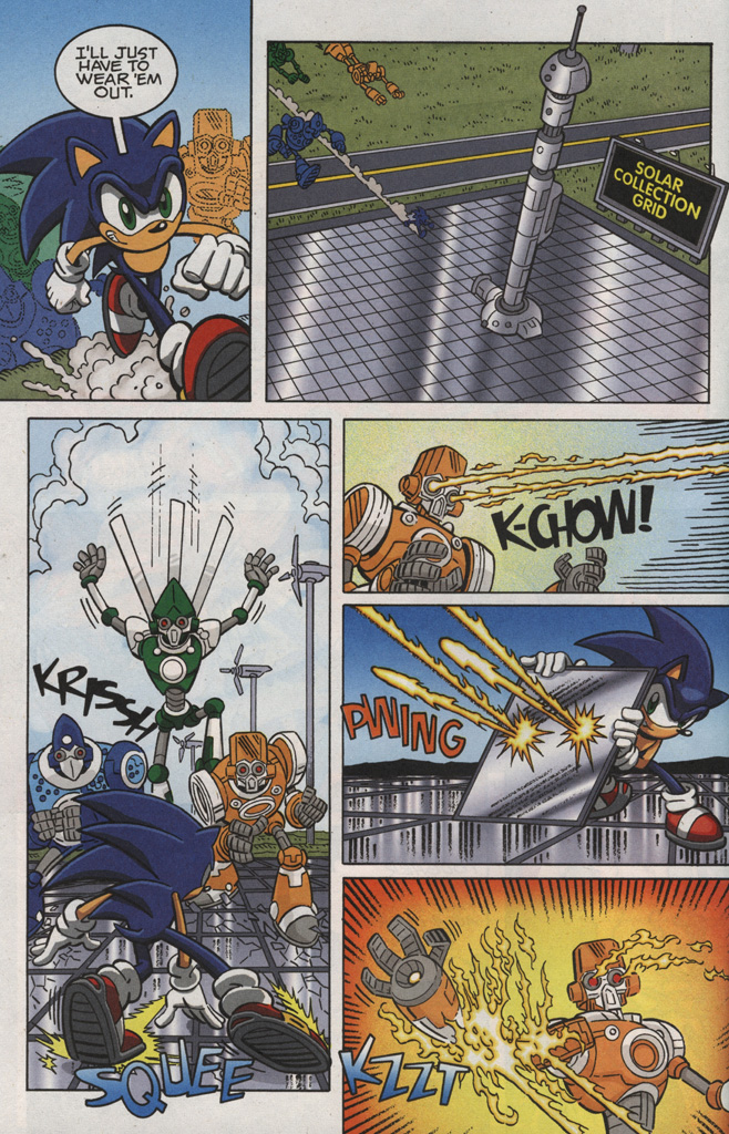 Read online Sonic X comic -  Issue #28 - 12