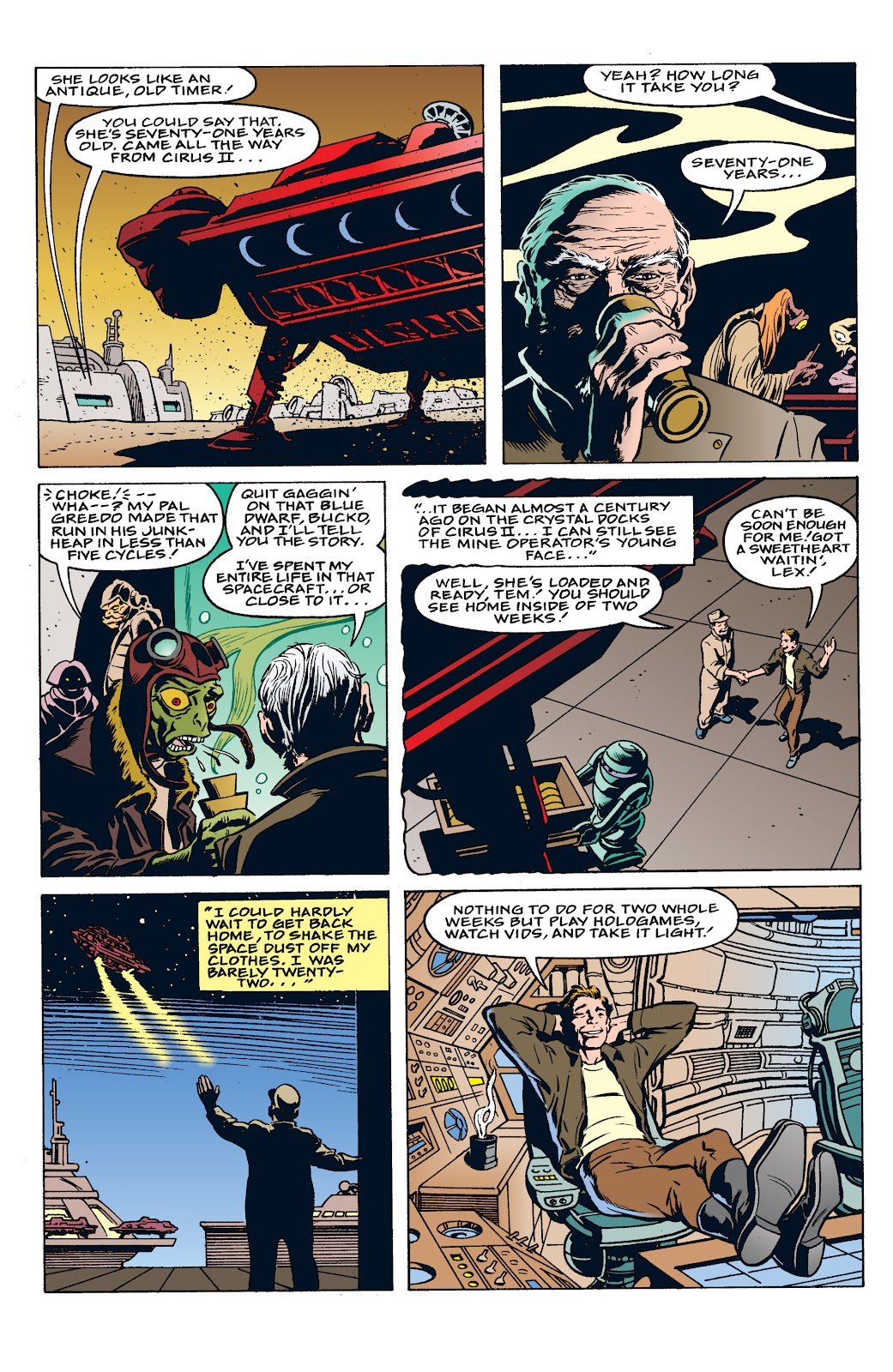 Read online Star Wars: Tales from Mos Eisley comic -  Issue # Full - 12