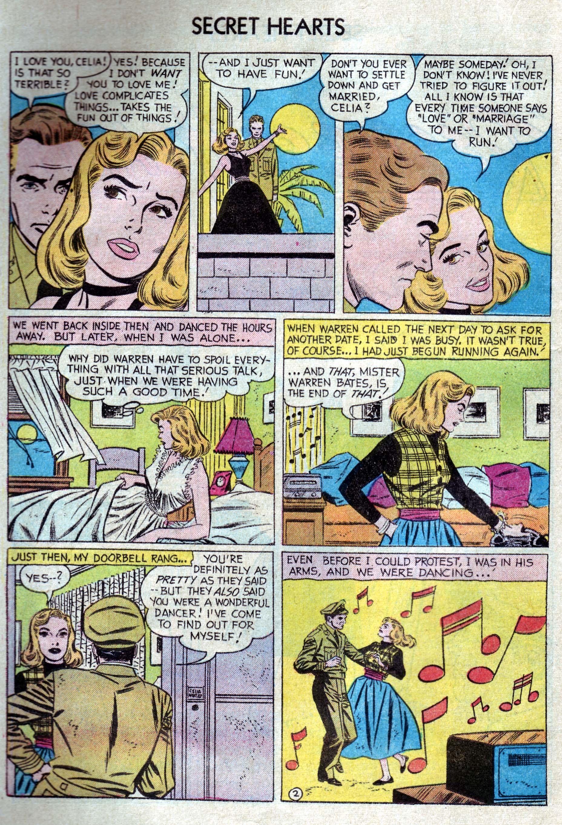 Read online Secret Hearts comic -  Issue #33 - 20