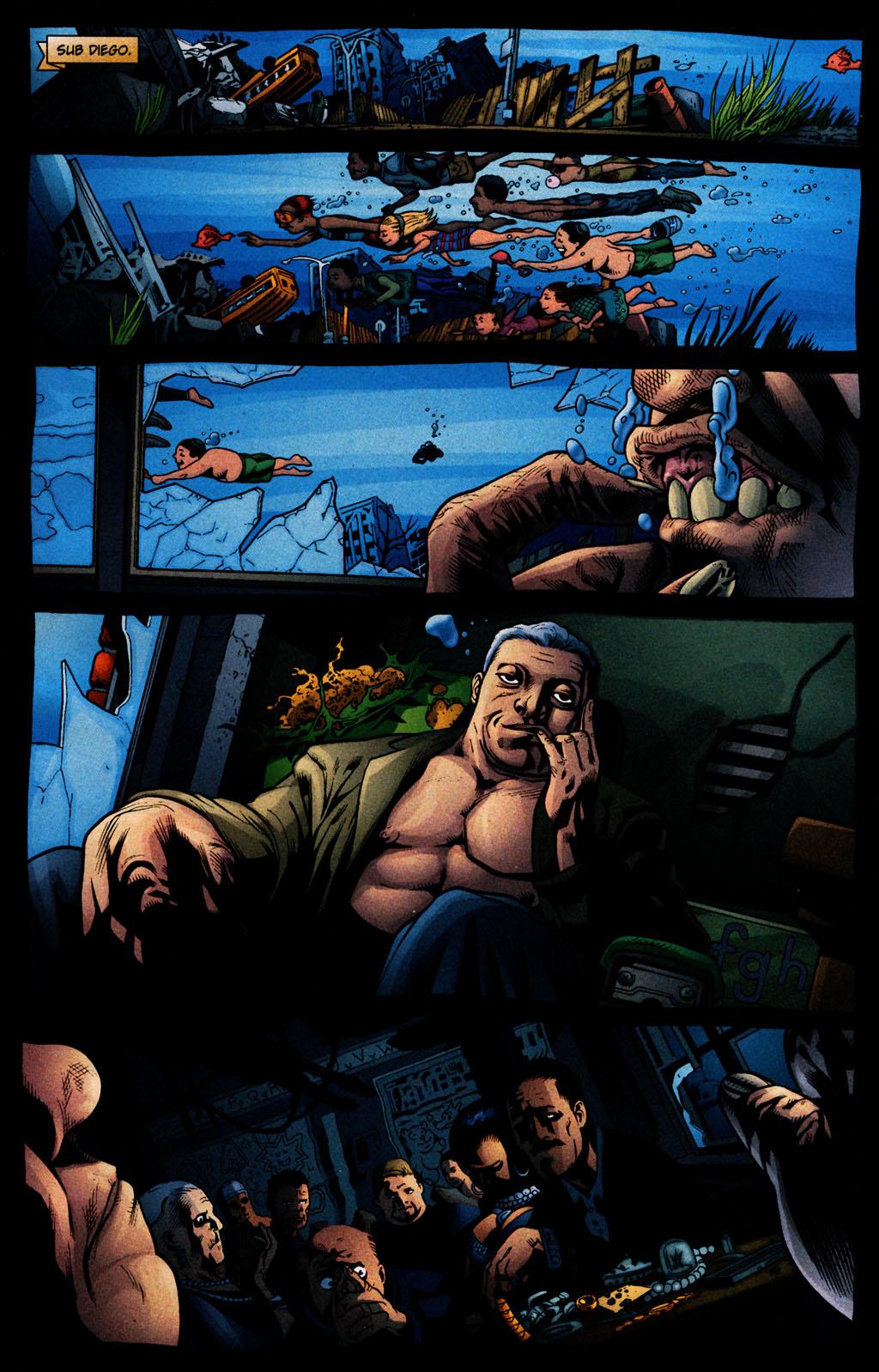 Read online Aquaman (2003) comic -  Issue #25 - 2