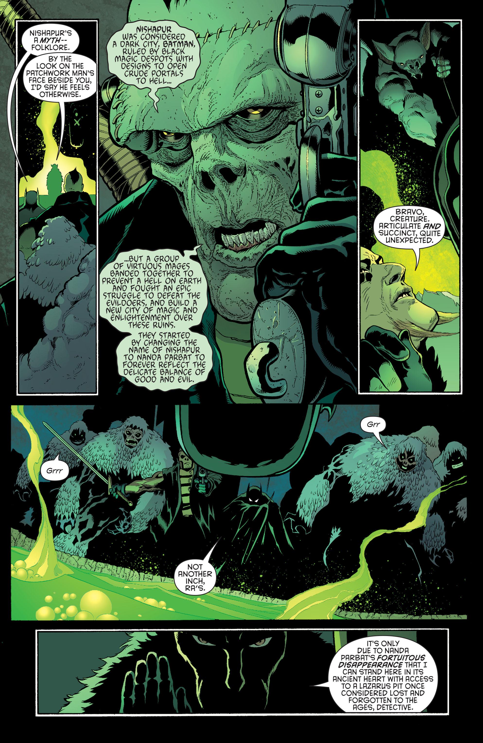 Read online Batman and Robin (2011) comic -  Issue #32 - Batman and Ra's al Ghul - 5